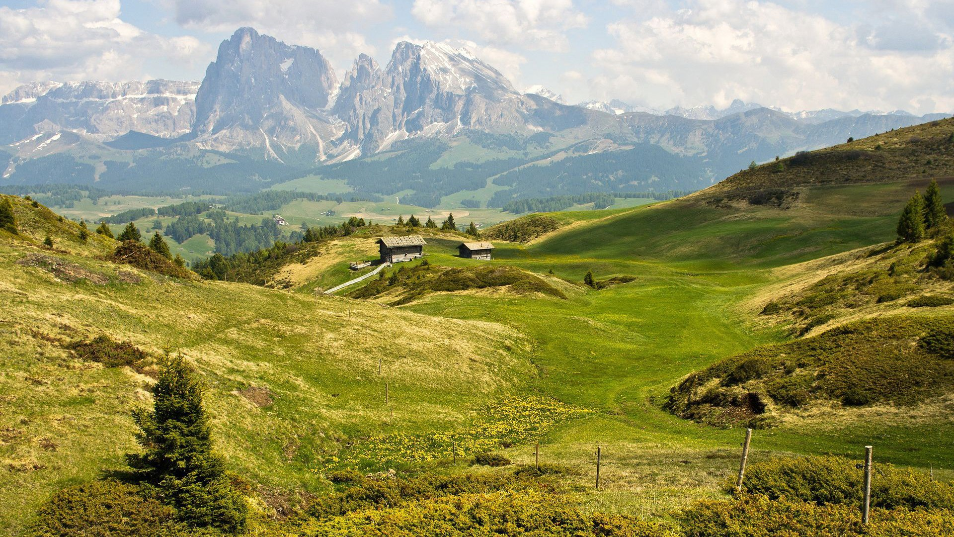 Wallpapers For Desktop Nature Scenes Beautiful Scenery - High Resolution Picture Of The Alps , HD Wallpaper & Backgrounds