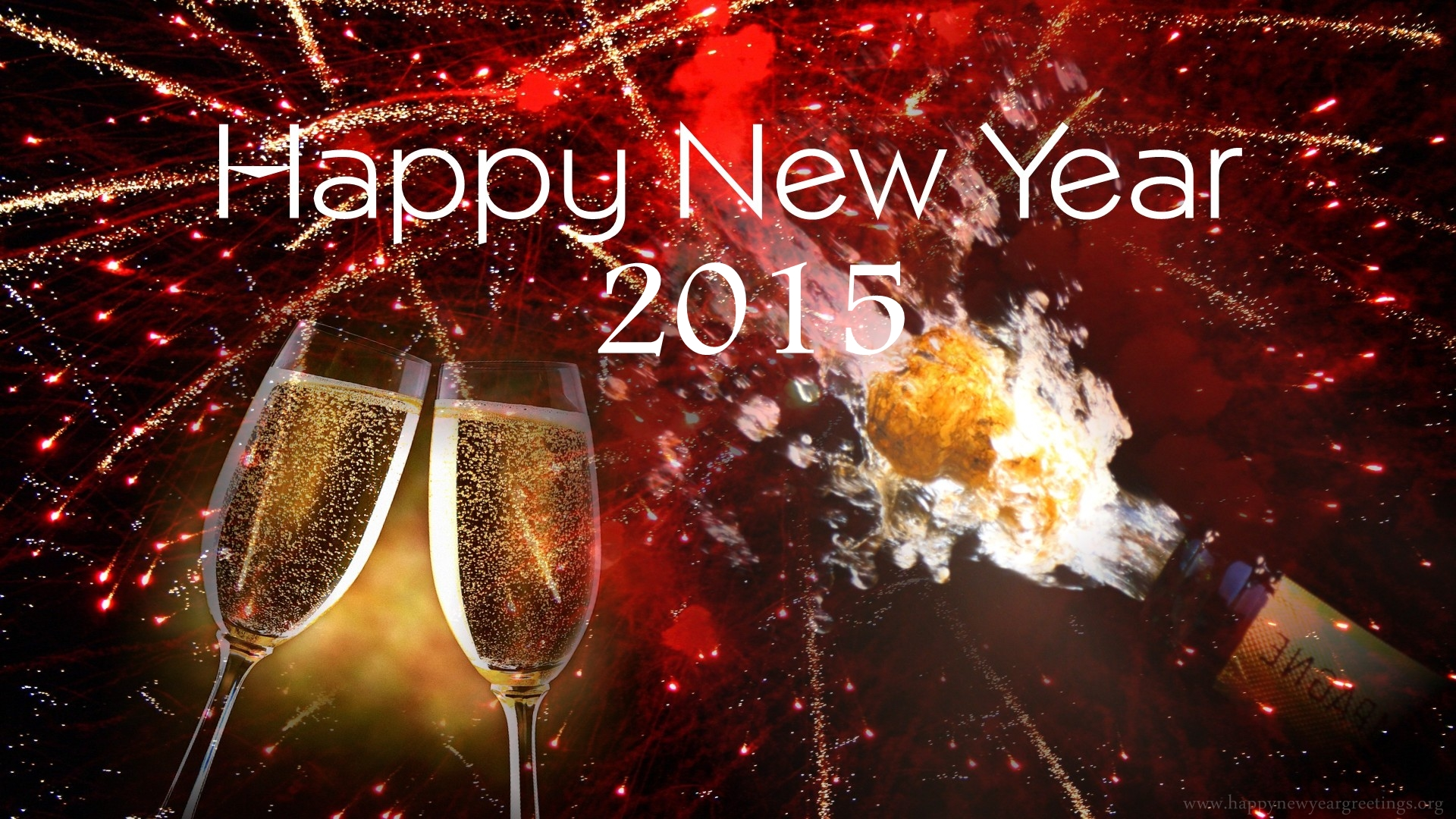 Champagne Glasses Happy New Year , HD Wallpaper & Backgrounds
