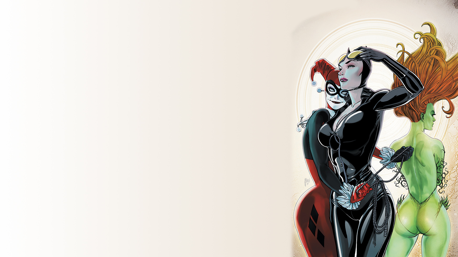 Dc Harley Quinn And Poison Ivy 2563008 Hd Wallpaper