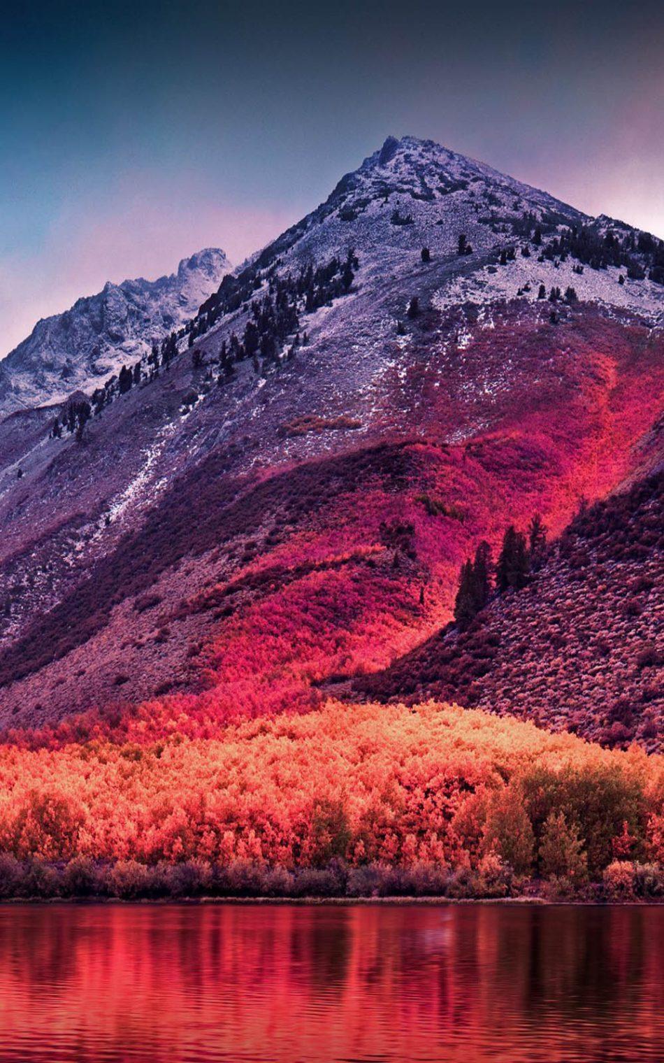 Sierra Nevada Mountains Landscape Hd Mobile Wallpaper - 4k ...