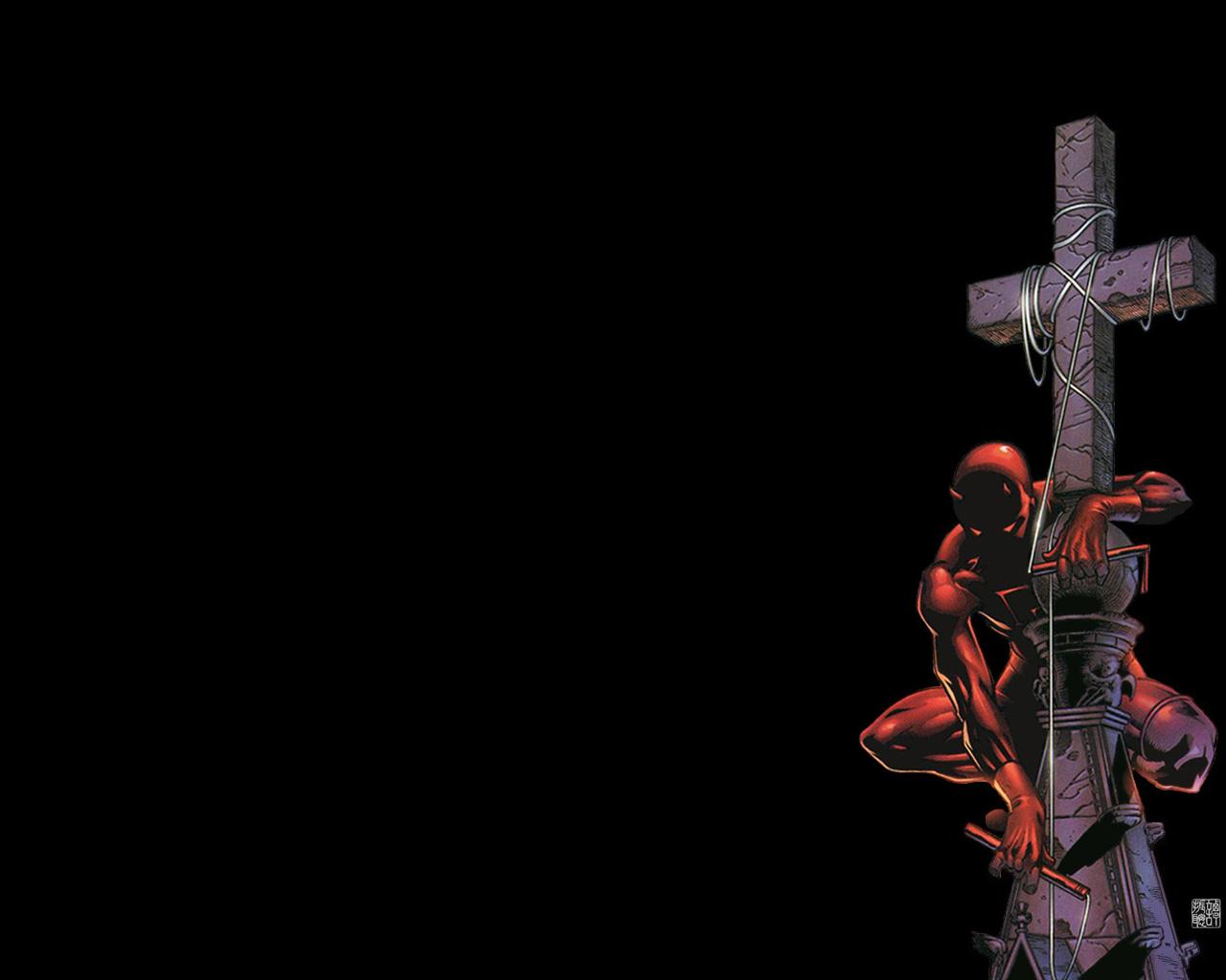 Daredevil Wallpaper Picserio Daredevil Wallpaper On Cross 2573331 Hd Wallpaper Backgrounds Download