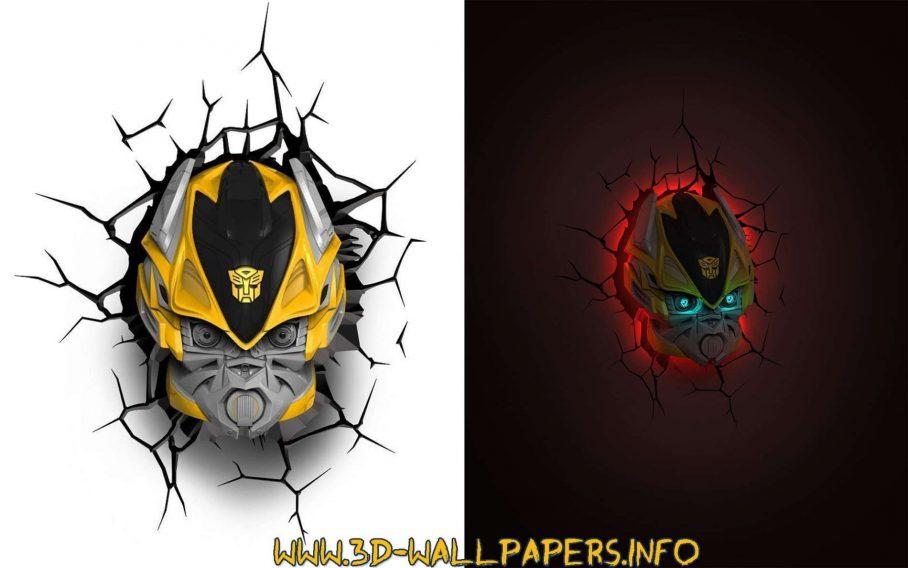Superhero Wall Lights Amazon Ebay 3d Deco Nz Decor Bumblebee 3d Light 2577750 Hd Wallpaper Backgrounds Download
