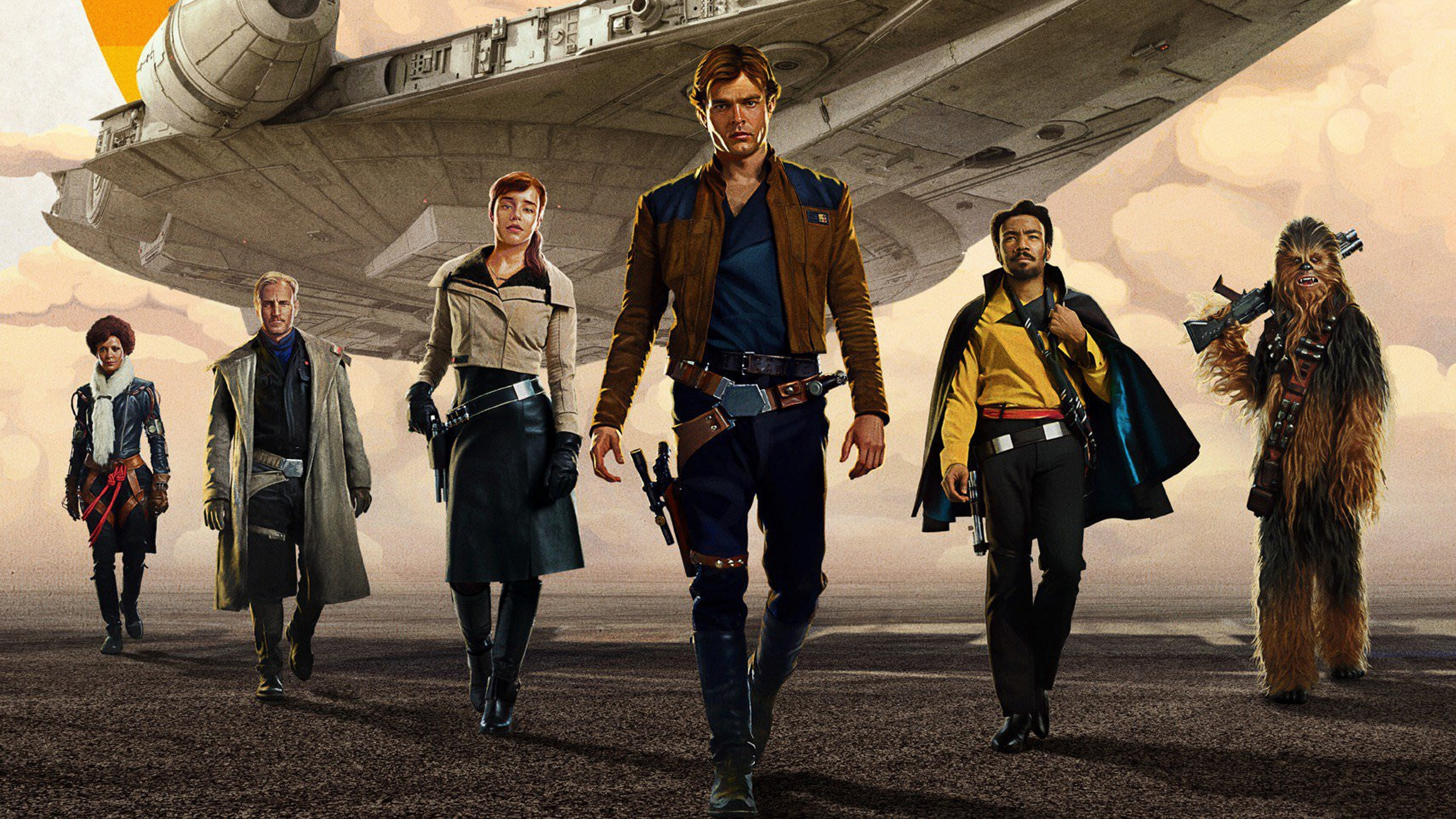 Solo A Star Wars Story , HD Wallpaper & Backgrounds