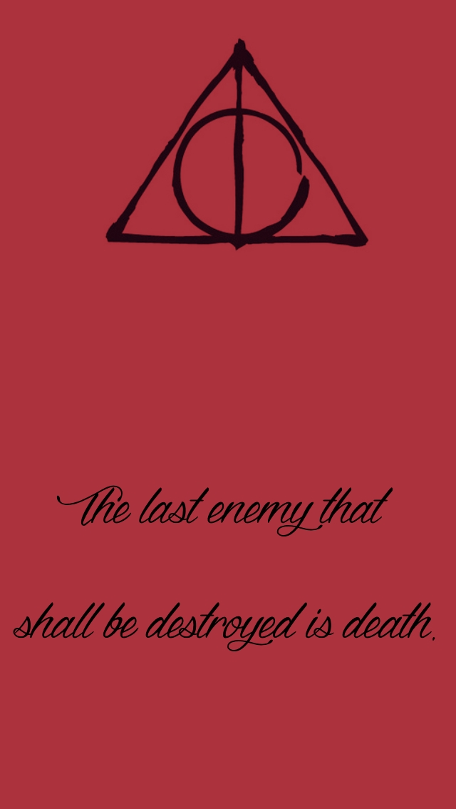 Harry Potter Iphone Wallpapers - Harry Potter Deathly Hallows Symbol Art , HD Wallpaper & Backgrounds
