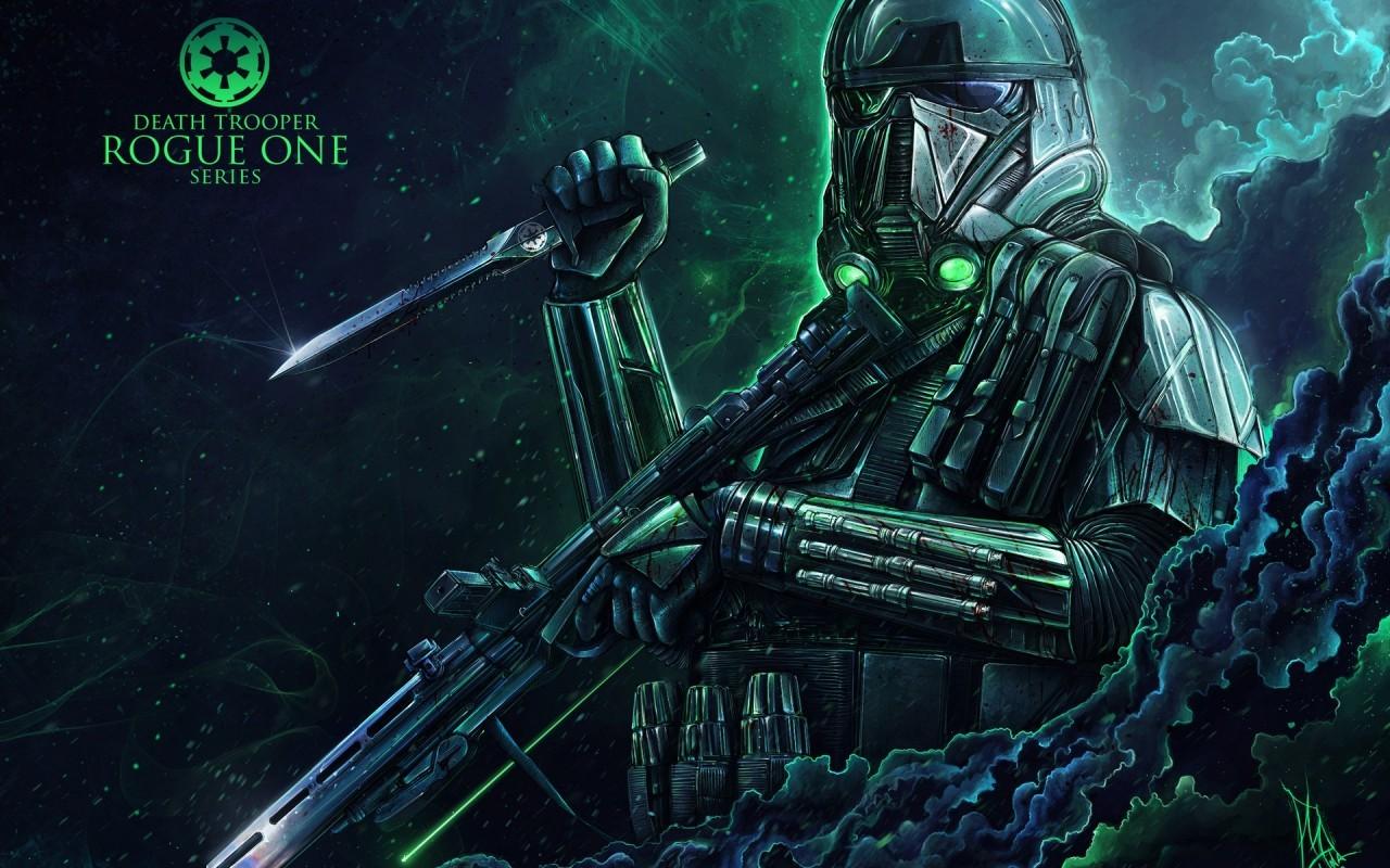 Deathtrooper, Rogue One , HD Wallpaper & Backgrounds