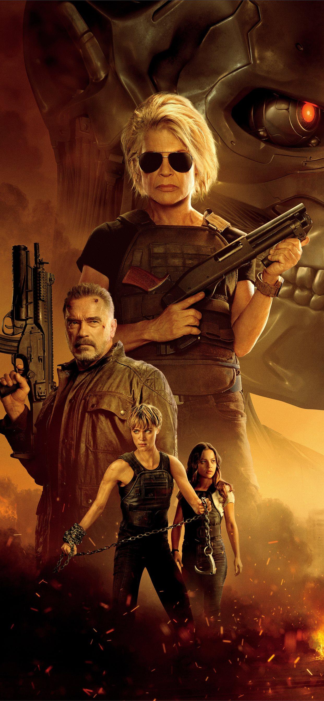 Terminator Dark Fate Iphone 2579537 Hd Wallpaper