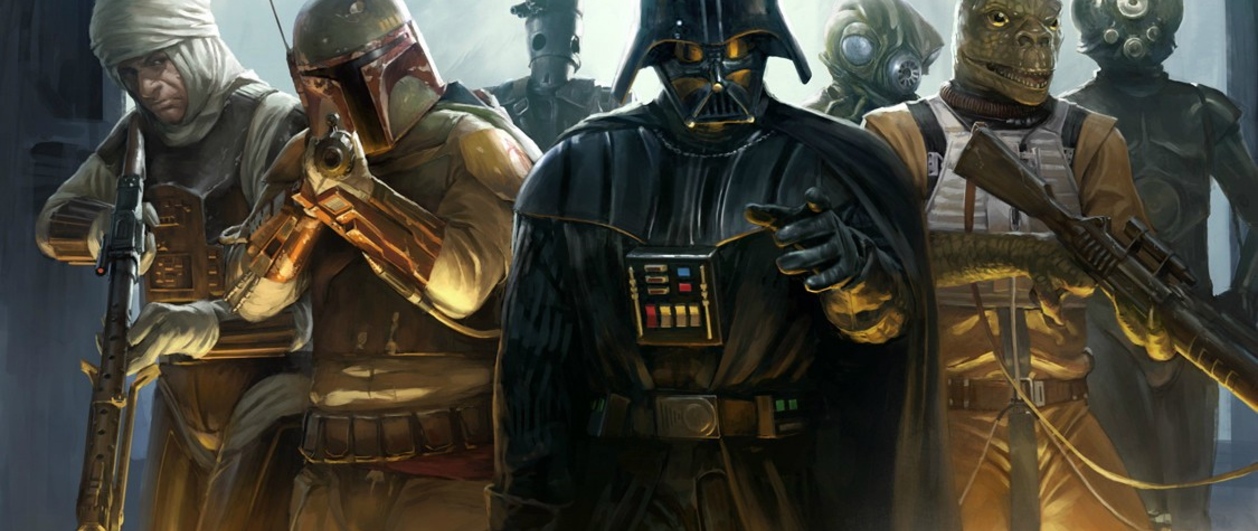 Cool Star Wars Bounty Hunters 2579598 Hd Wallpaper Backgrounds Download