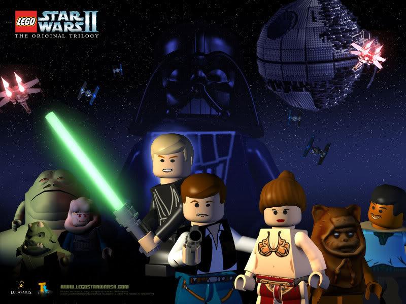 Lego Star Wars Wallpaper - Lego Star Wars The Trilogy , HD Wallpaper & Backgrounds