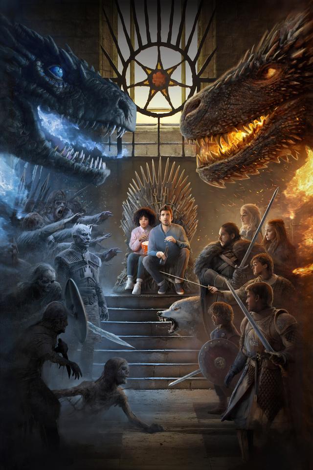 Game Of Thrones Season 8 Fan Art , HD Wallpaper & Backgrounds