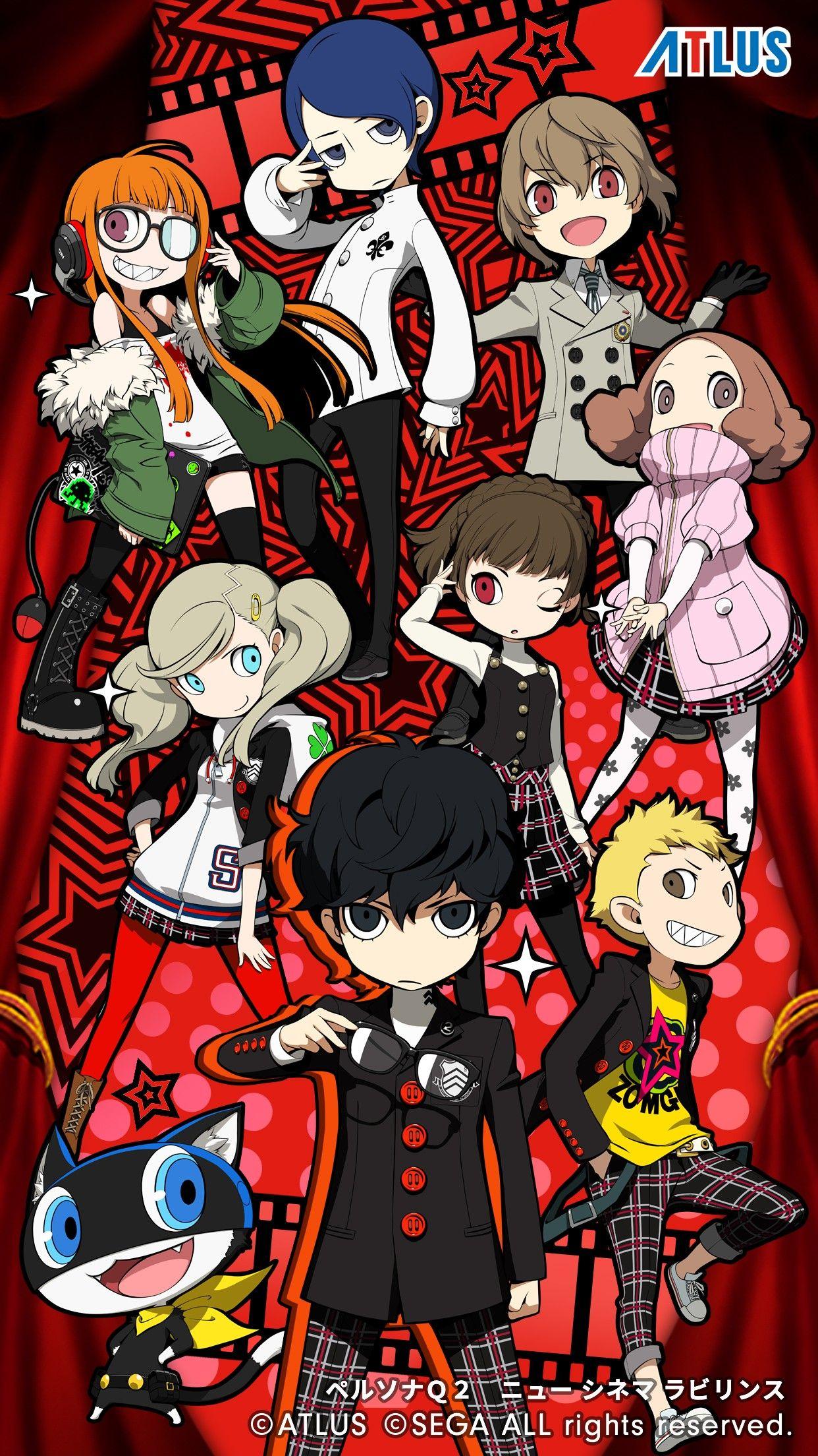 Persona Q2 Persona 5 , HD Wallpaper & Backgrounds