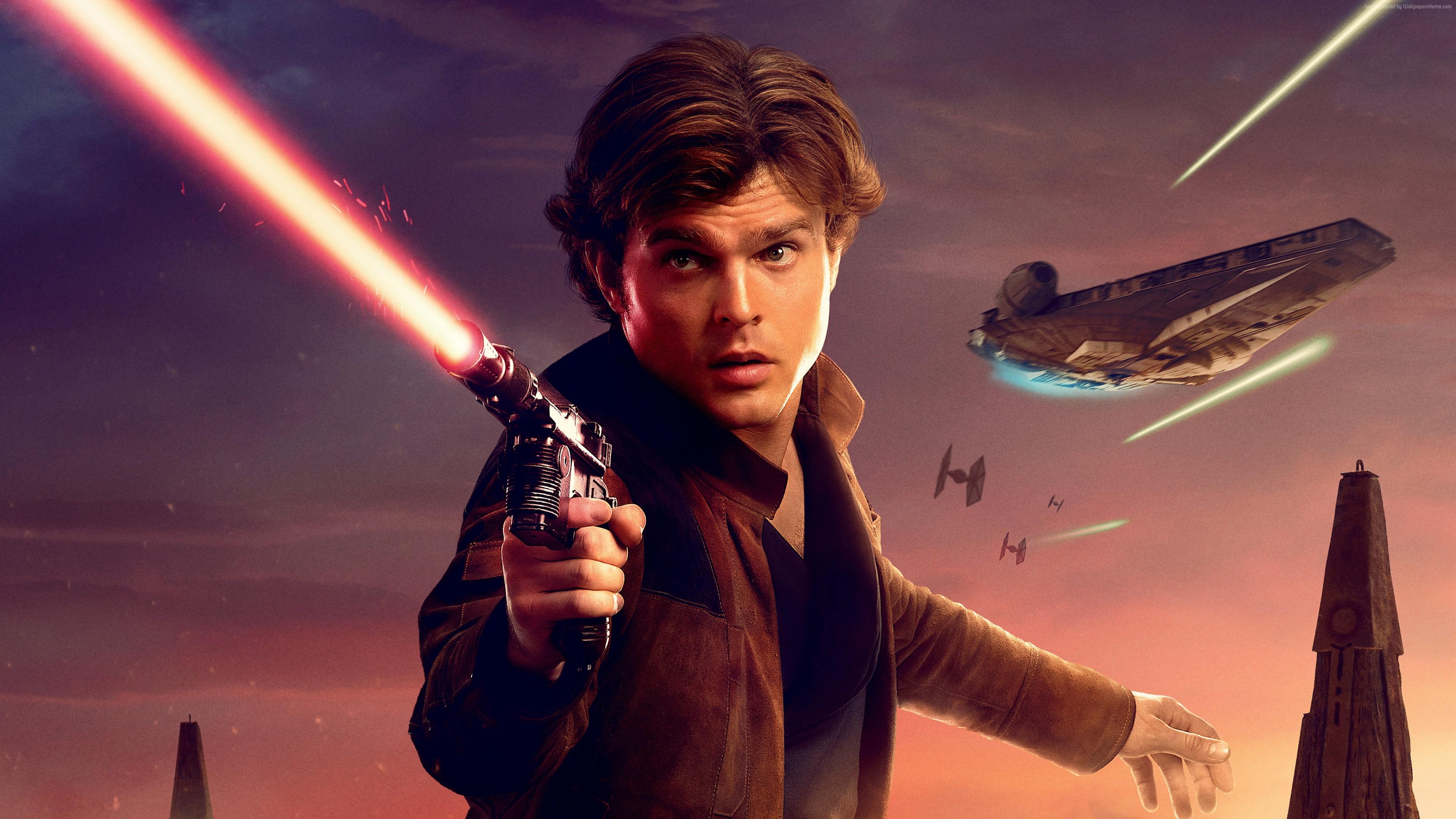 A Star Wars Story, Han Solo, 4k, 5k, Movies - Star Wars Han Solo 4k , HD Wallpaper & Backgrounds