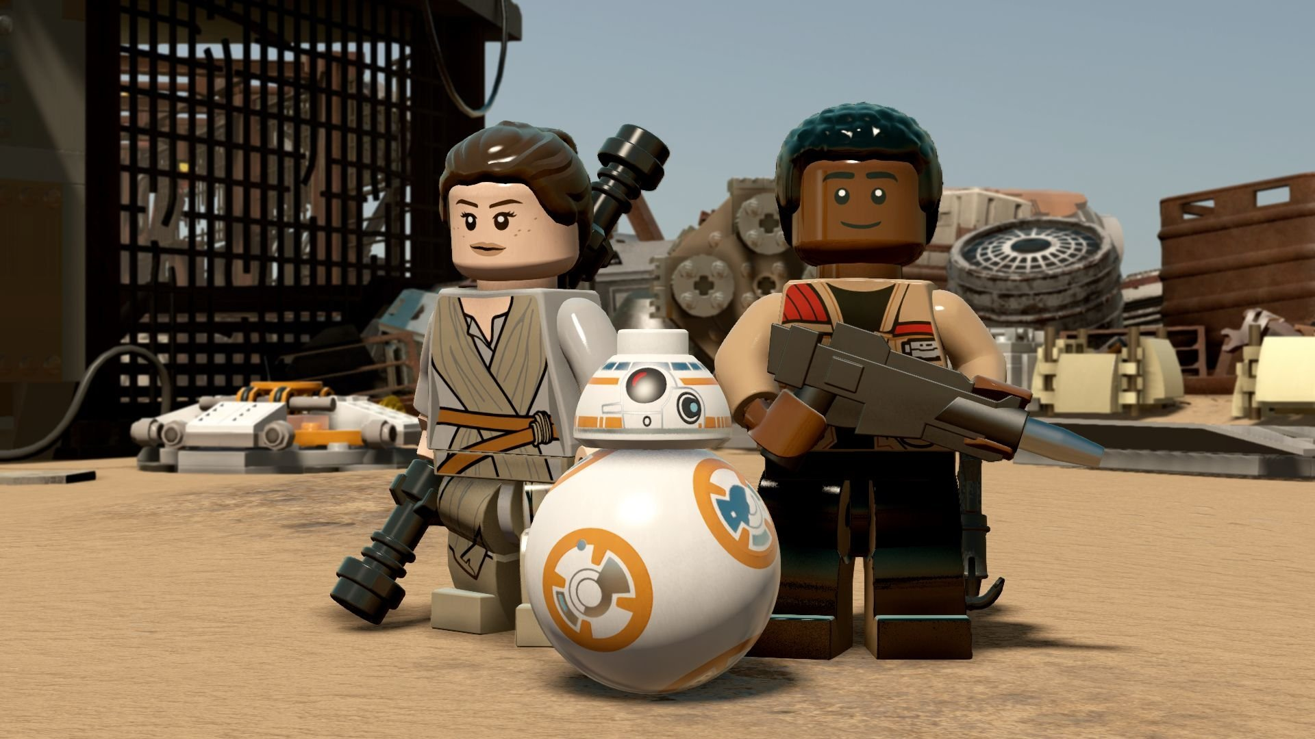 Lego Star Wars All Stars , HD Wallpaper & Backgrounds