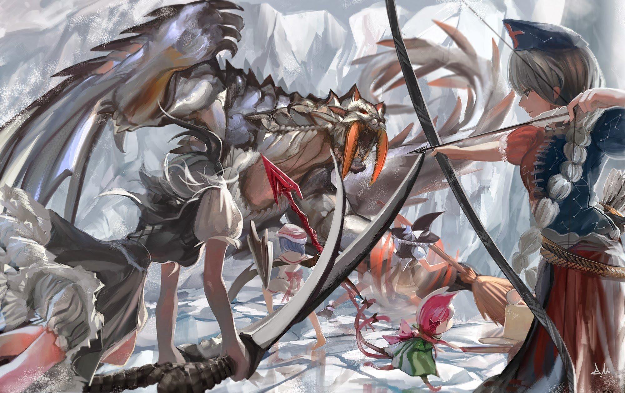 Monster Hunter Barioth Art , HD Wallpaper & Backgrounds