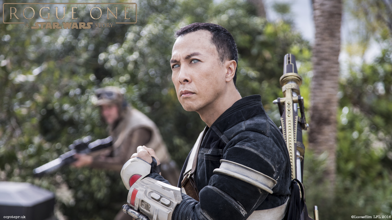 Rogue One A Star Wars Story Wallpaper - Star Wars Rogue One Chirrut , HD Wallpaper & Backgrounds