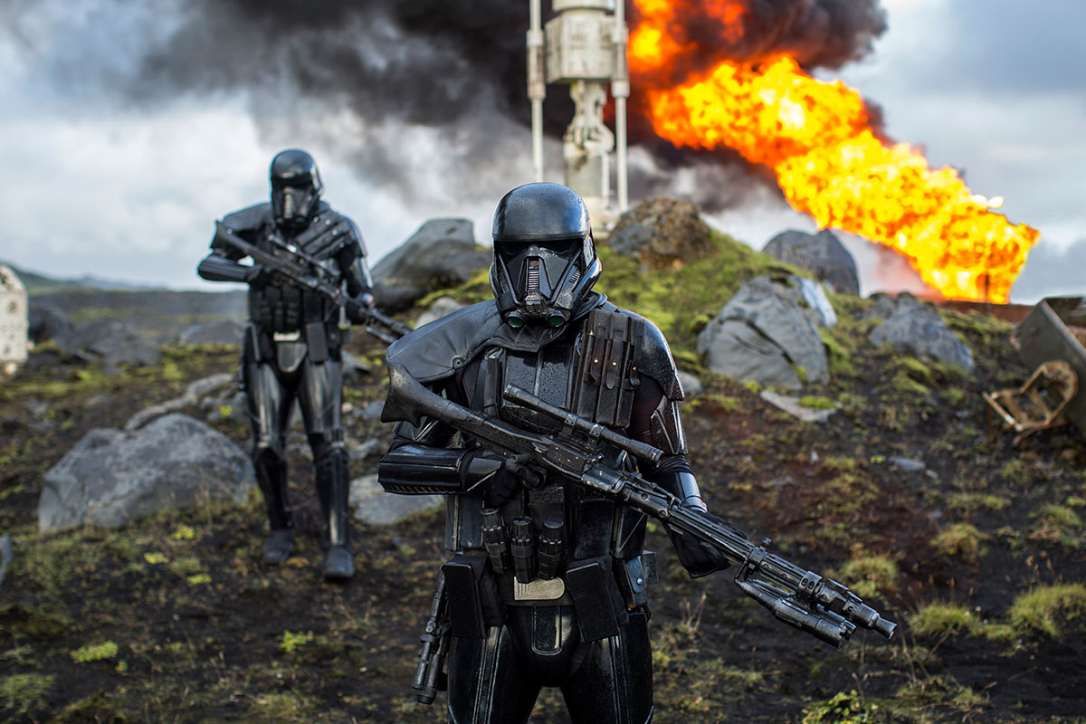 Star Wars A Rogue One Trooper , HD Wallpaper & Backgrounds
