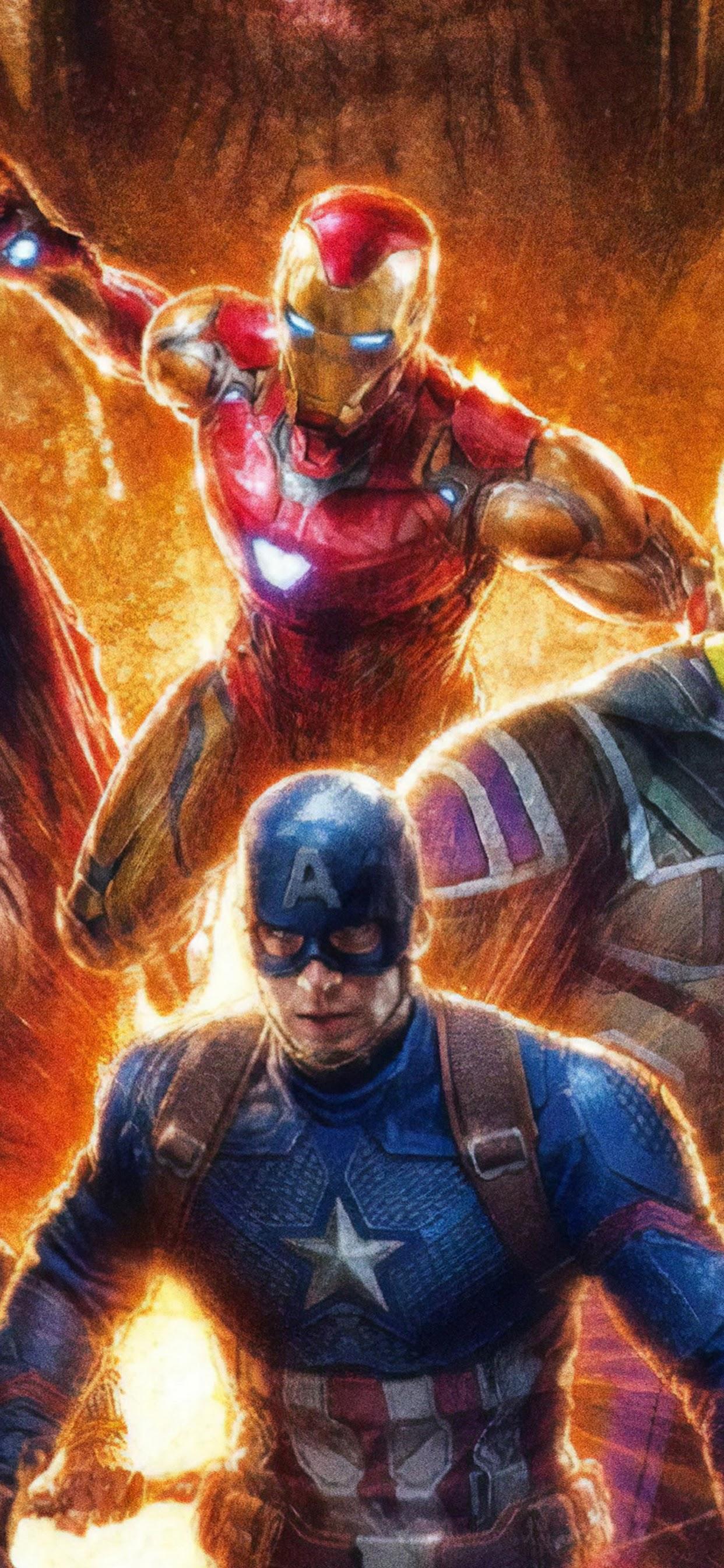 Endgame Iron Man Captain America 4k Note 10 Plus 4k