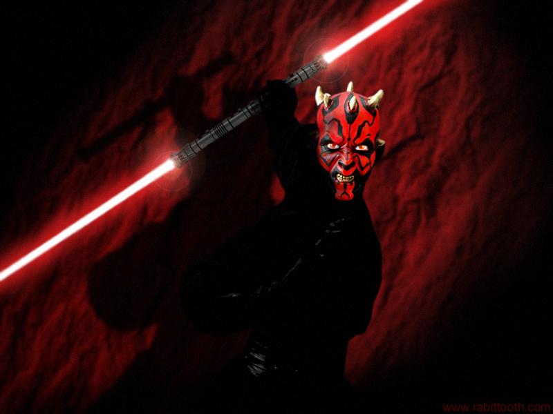 Star Wars Darth Maul , HD Wallpaper & Backgrounds
