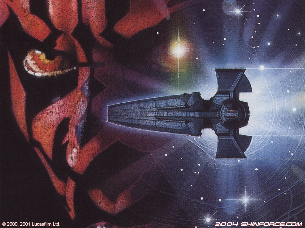 Star Wars Wallpaper - Drew Struzan Darth Maul , HD Wallpaper & Backgrounds