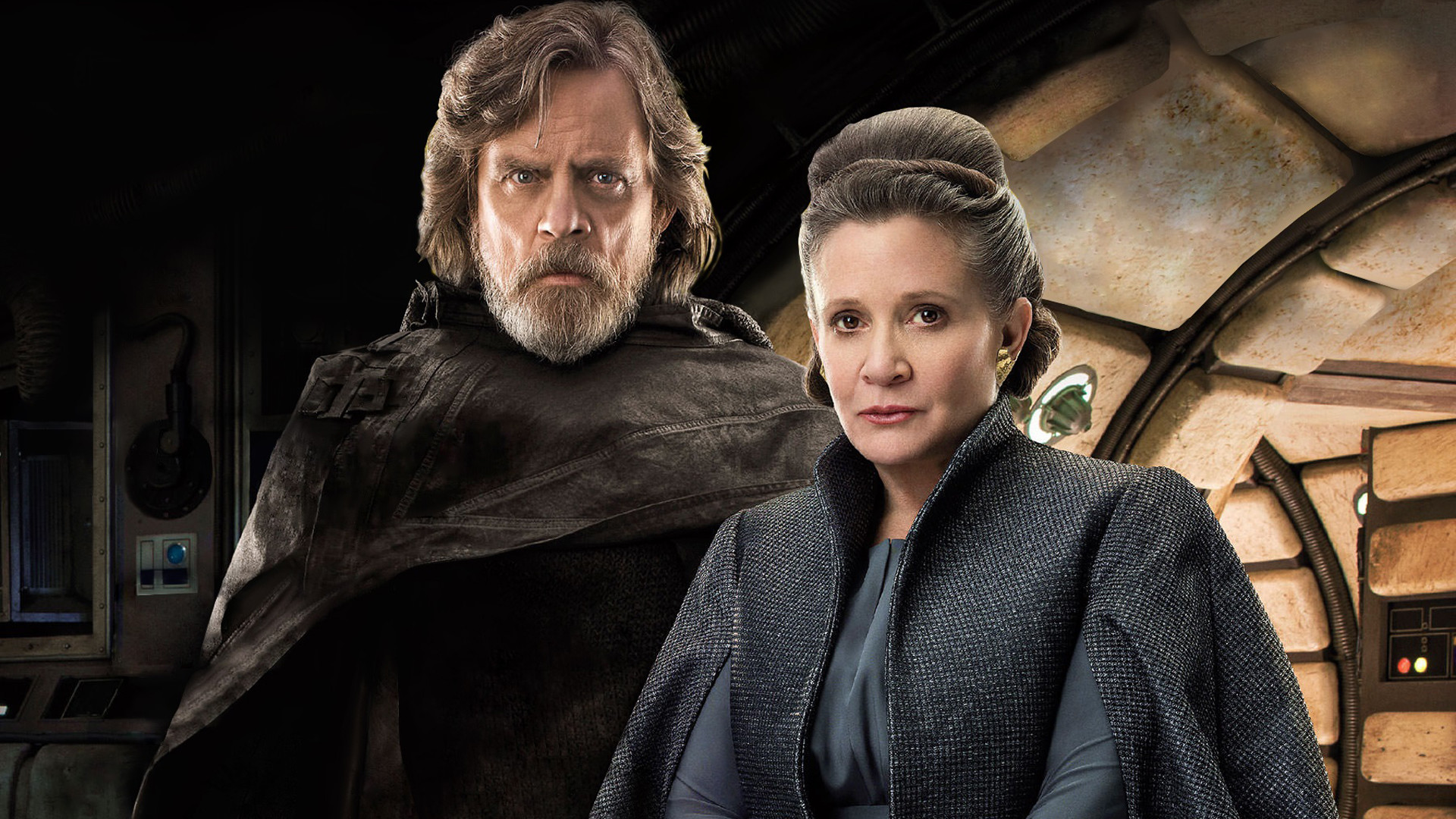Carrie Fisher The Last Jedi , HD Wallpaper & Backgrounds