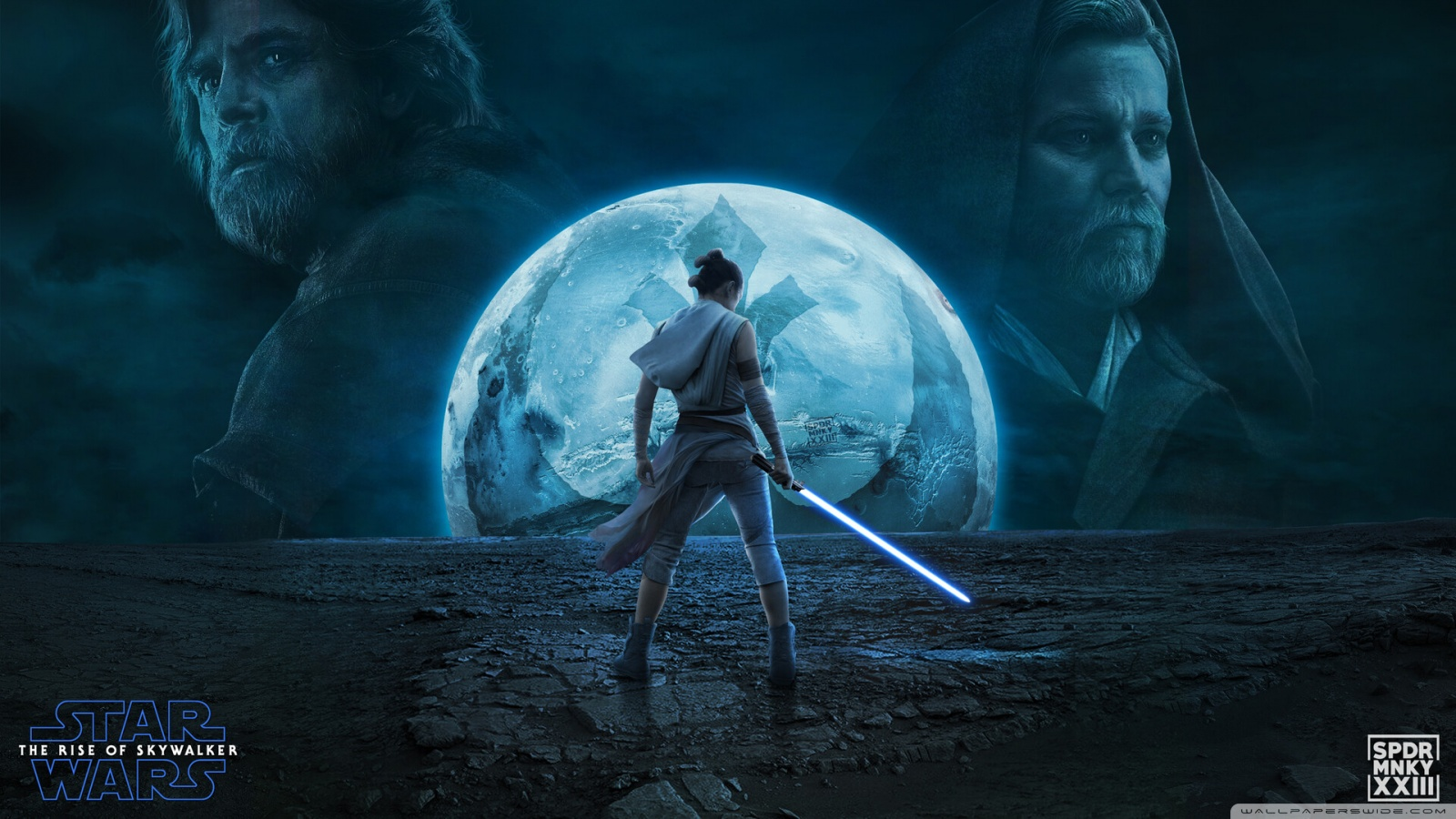 Star Wars The Rise Of Skywalker Poster , HD Wallpaper & Backgrounds