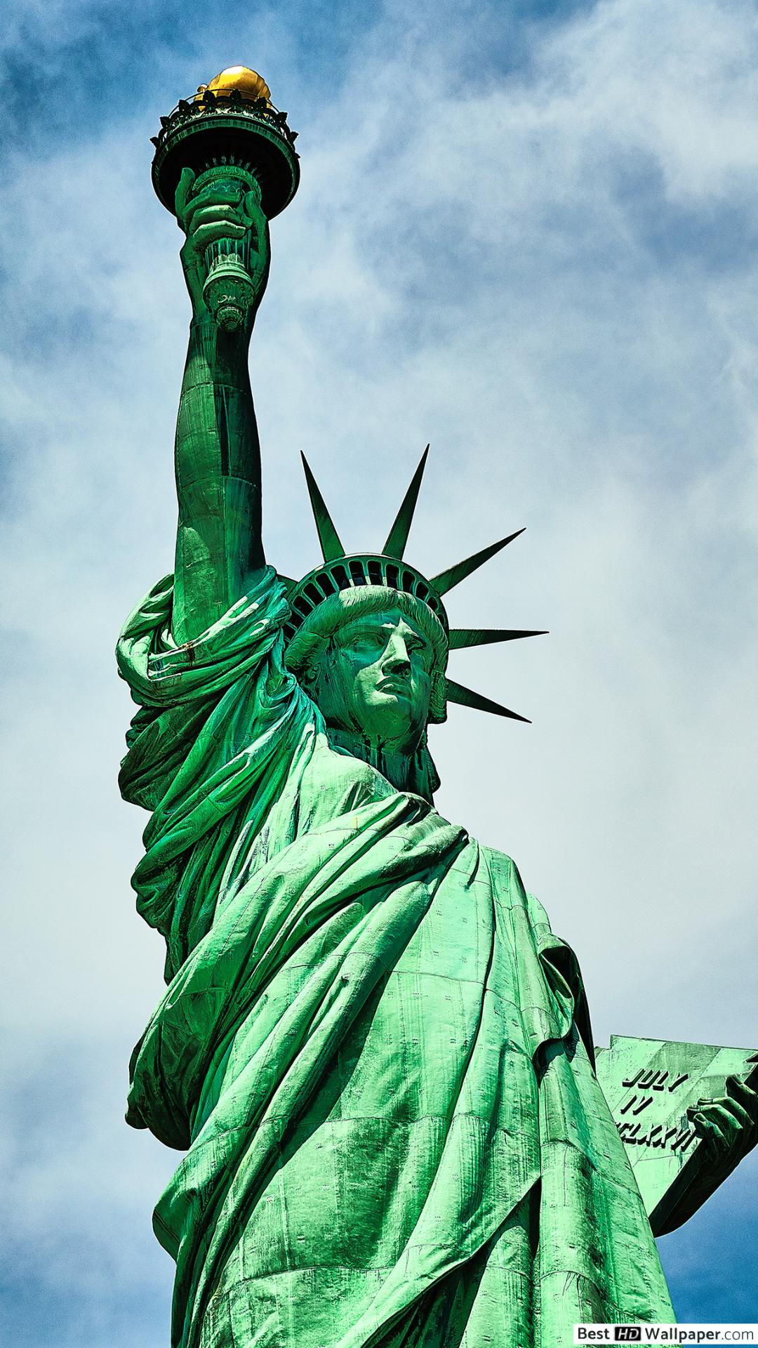 Statue Of Liberty Iphone , HD Wallpaper & Backgrounds