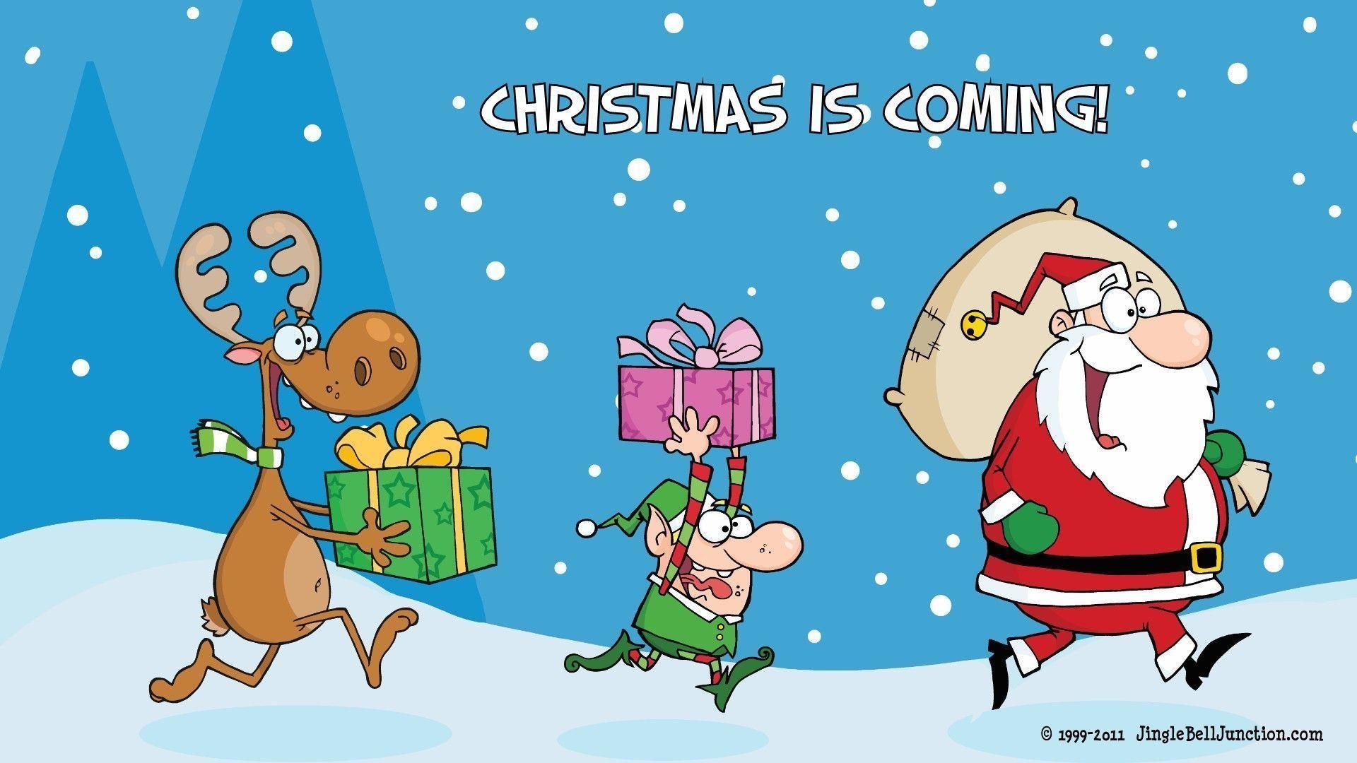 Christmas Jokes Wallpaper - Christmas Desktop Backgrounds Funny , HD Wallpaper & Backgrounds