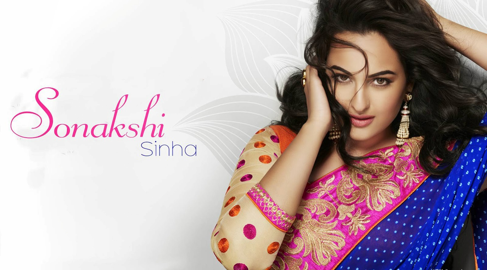 Hot And Sexy Look Of Sonakshi Sinha In Saree Hd Wallpapers - India Beautiful Actress Hd , HD Wallpaper & Backgrounds