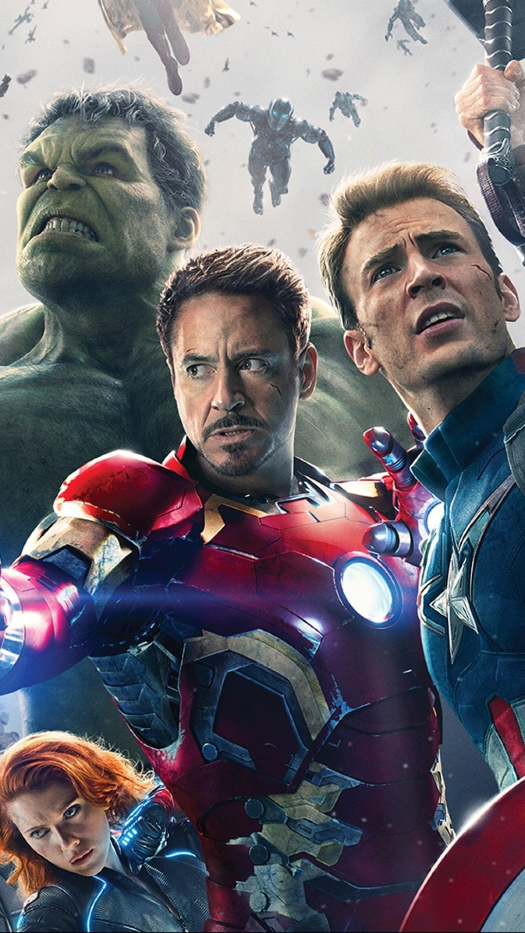 Download Hd Wallpapers Of Avengers Group Avenger Age Of Ultron