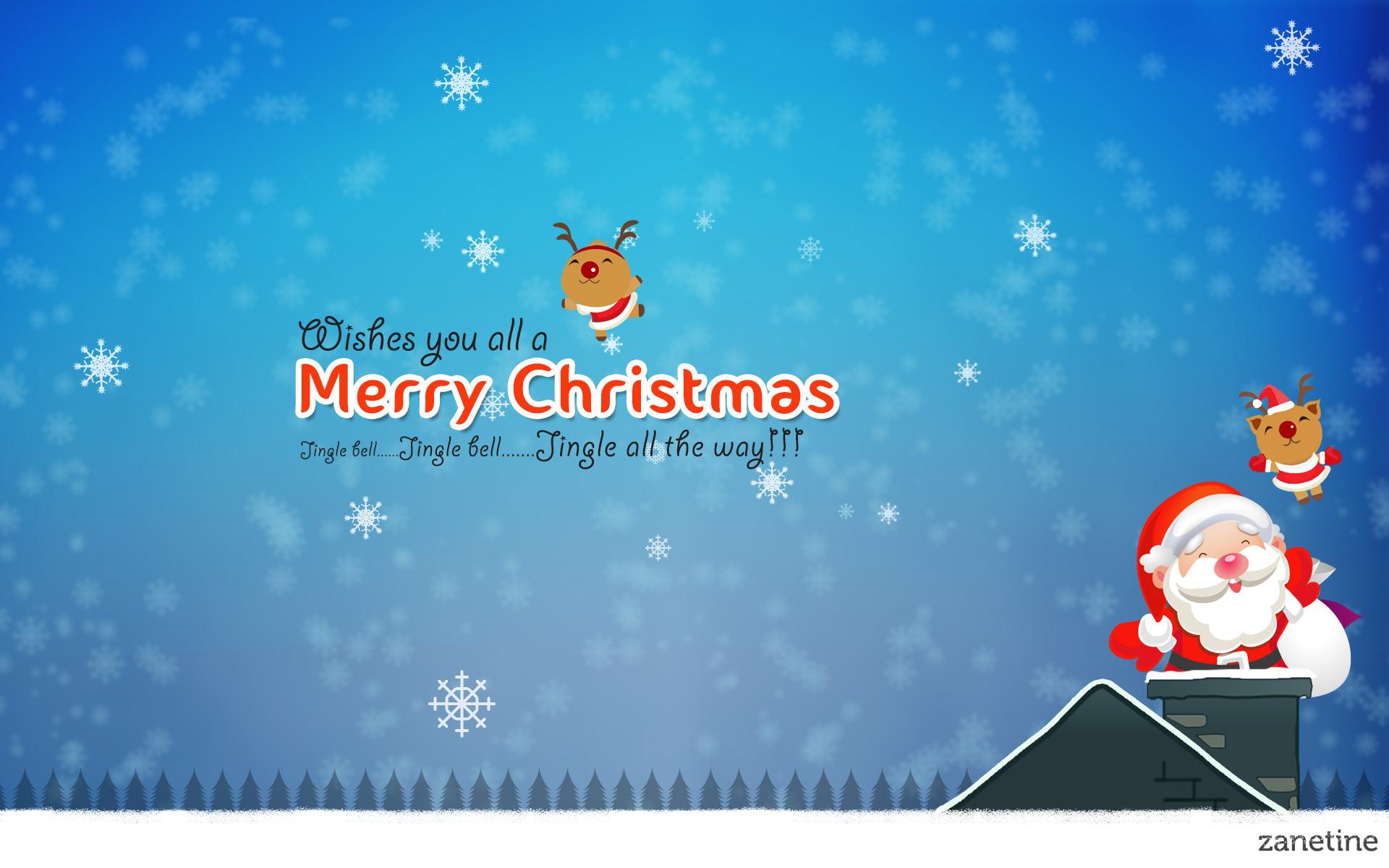 Merry Christmas Jingle Bells Wallpaper - Jingle Bell Merry Christmas , HD Wallpaper & Backgrounds