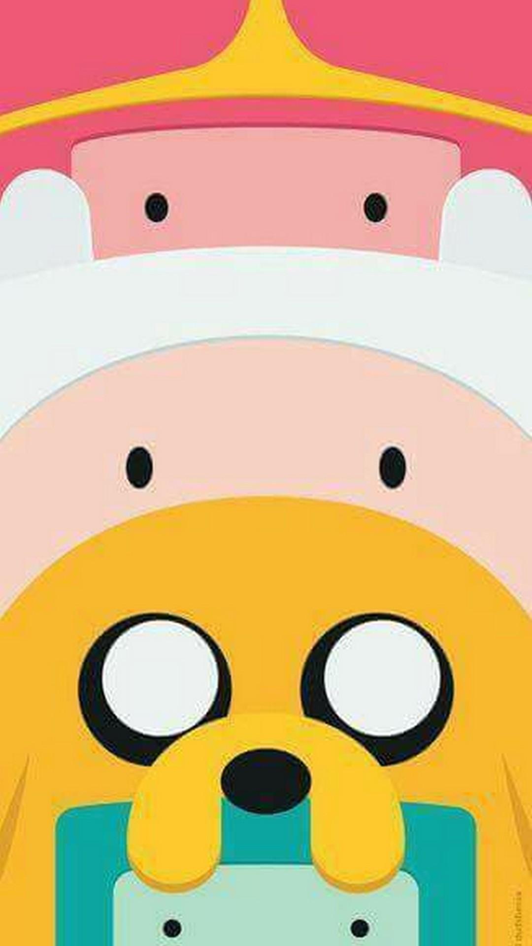 Wallpaper Adventure Time Cartoon Network Iphone With - Finn And Jake Wallpaper Hd , HD Wallpaper & Backgrounds