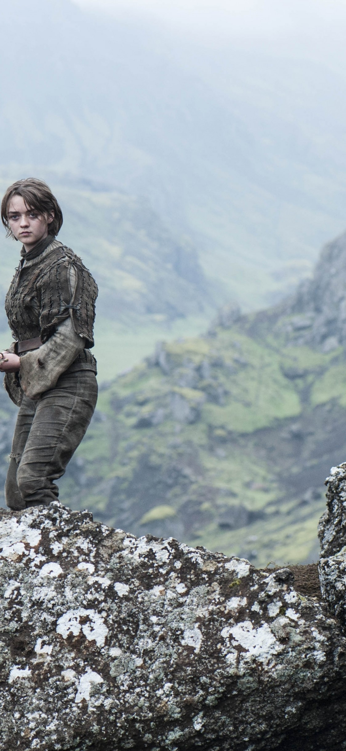 Arya Stark, Tv Series, Game Of Thrones - Game Of Thrones Filming Locations Iceland , HD Wallpaper & Backgrounds