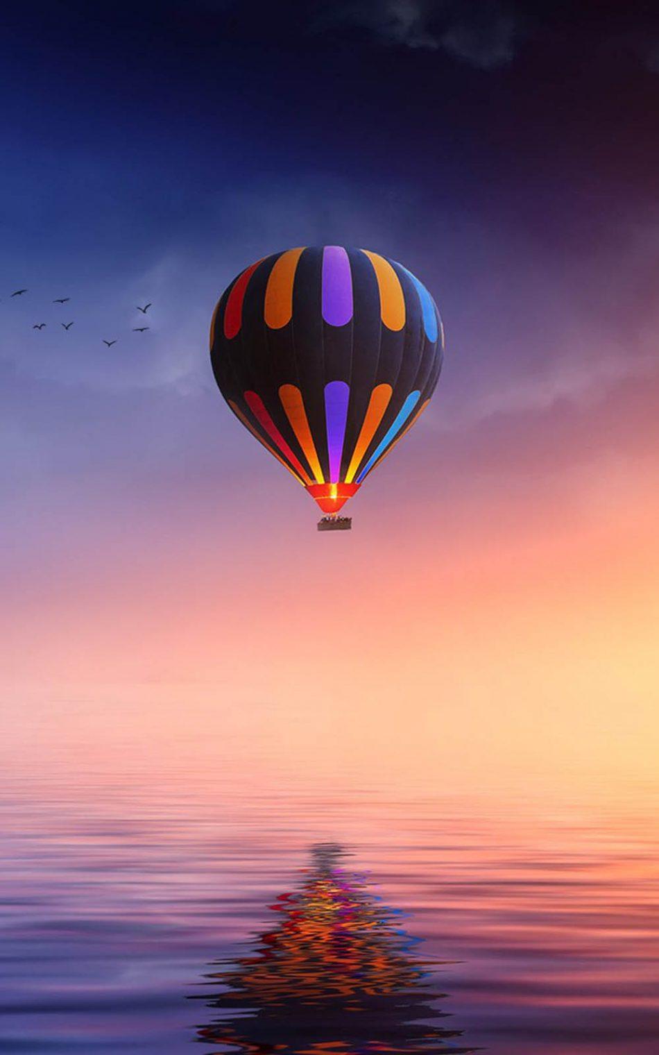 Colorfull Air Balloon Hd Mobile Wallpaper Air Balloon Hd