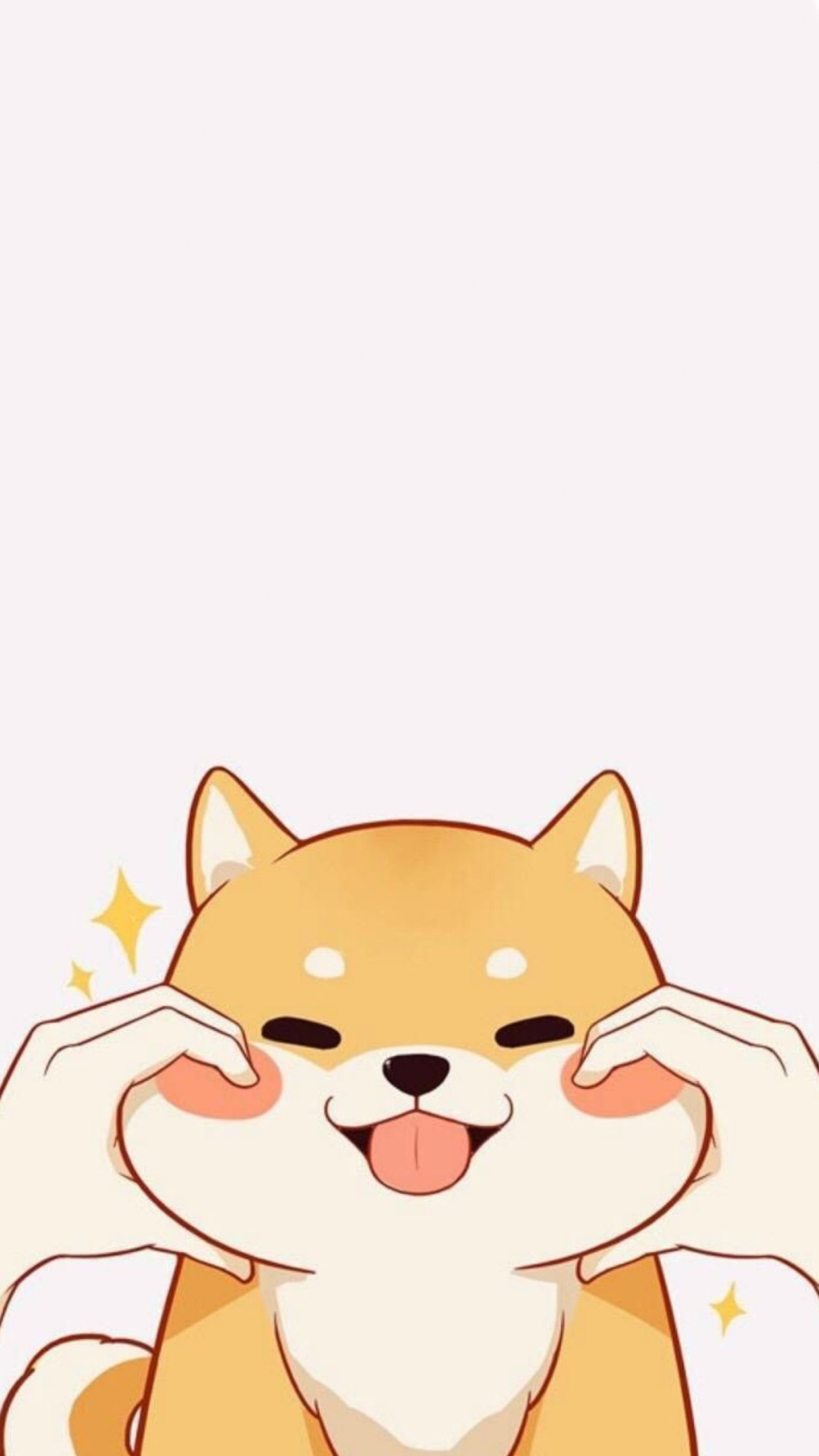 Shiba Inu Phone Wallpaper Cartoon