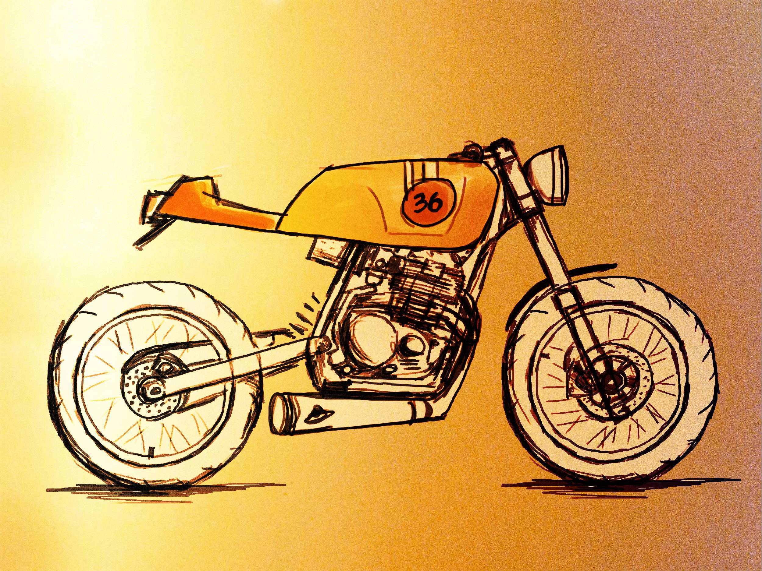 Cafe Racer Wallpapers Wallpaper Cave Cafe Racer Bike Sketch 262861 Hd Wallpaper Backgrounds Download