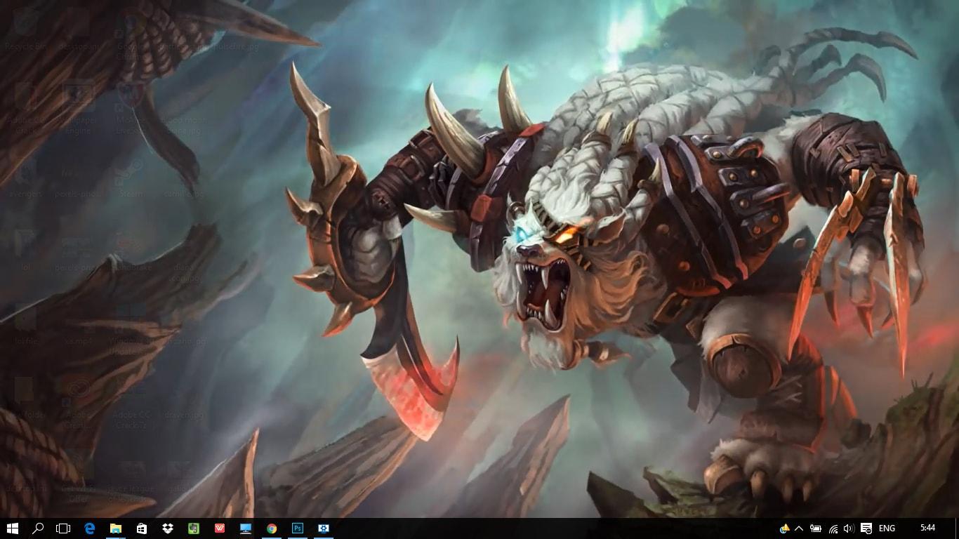 Rengar League Of Legends Wallpaper Engine Rengar The
