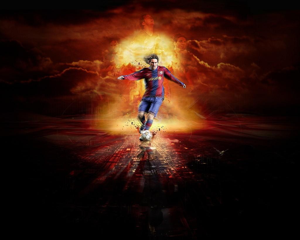 Great Lionel Messi Wallpaper Keren Fc Barcelona Wallpaper - Lionel Messi 2010 , HD Wallpaper & Backgrounds