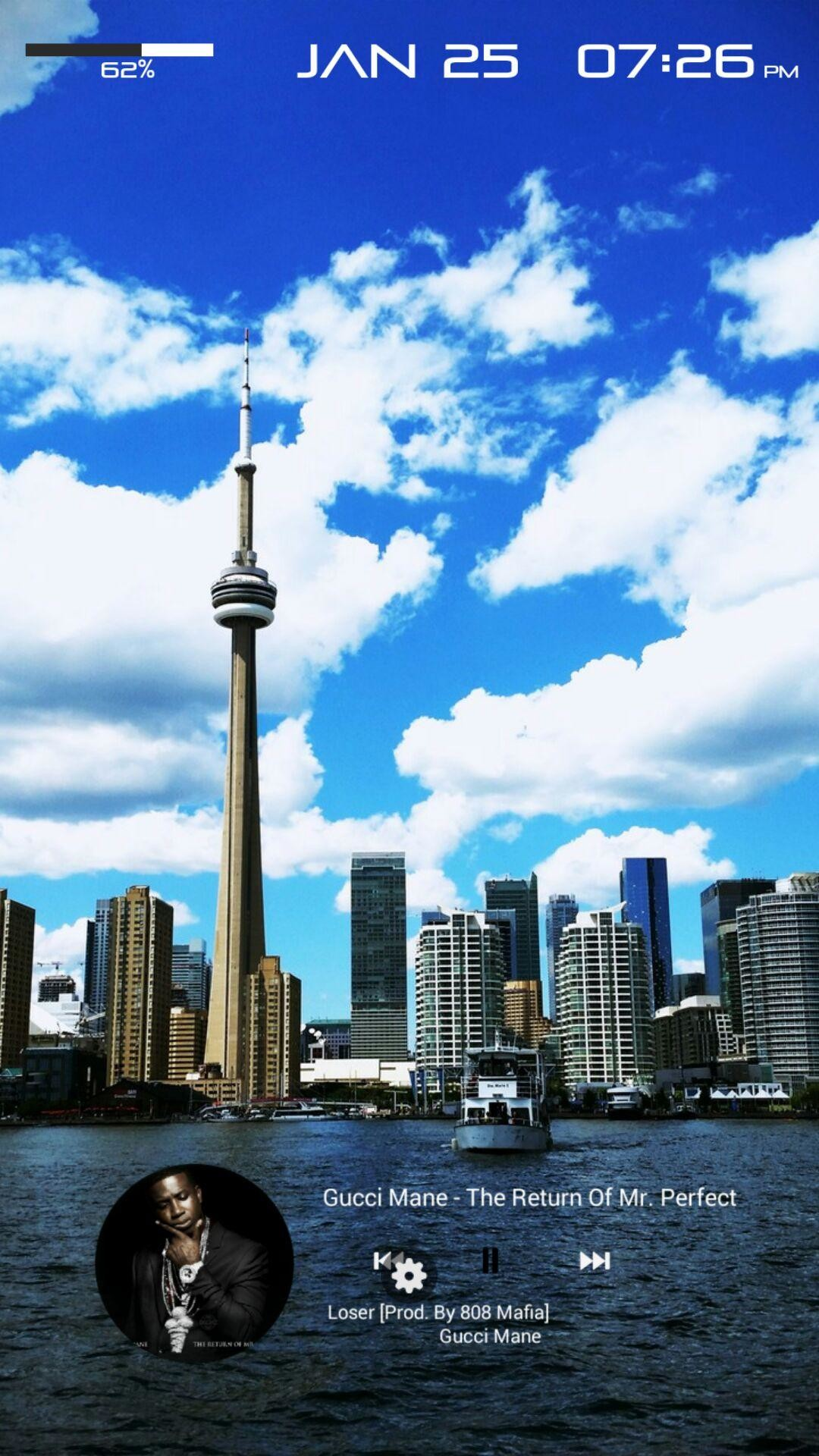 Toronto Blue Jays Iphone Wallpaper - Cityscape , HD Wallpaper & Backgrounds