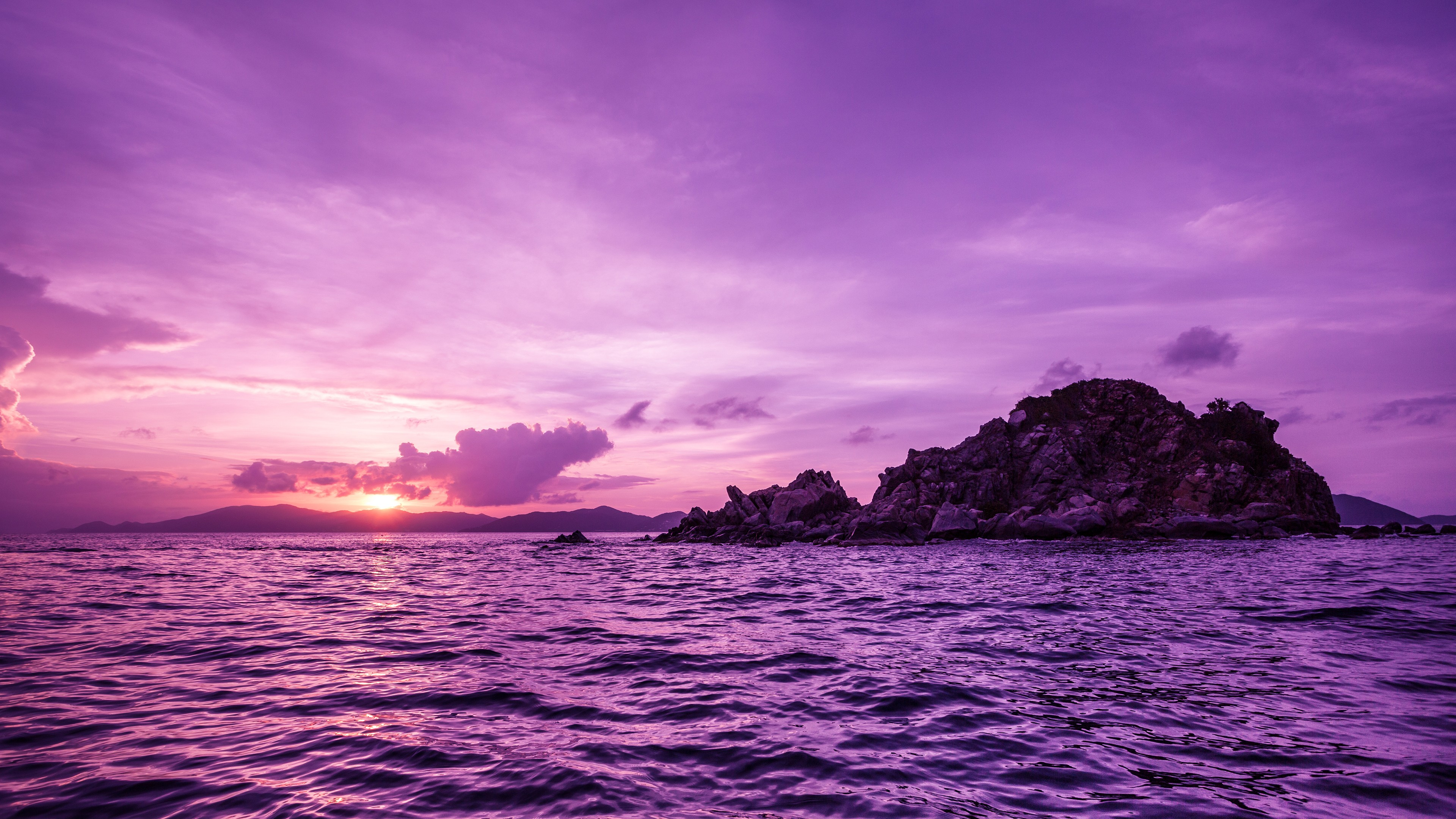 Available Desktop Resolutions Purple Sunset 4k 266131 Hd Wallpaper Backgrounds Download