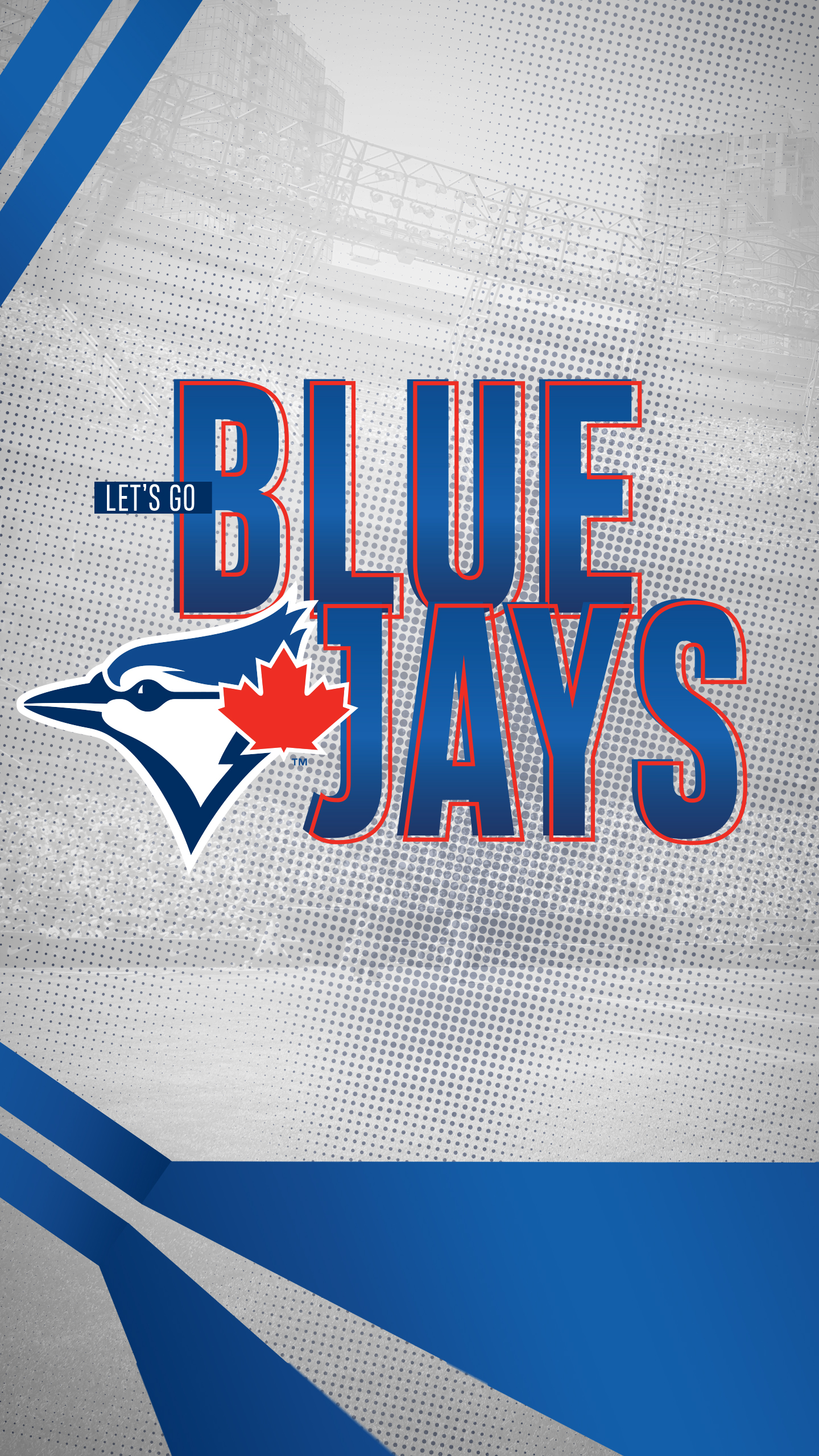 Let's Go Blue Jays Background - Toronto Blue Jays New , HD Wallpaper & Backgrounds
