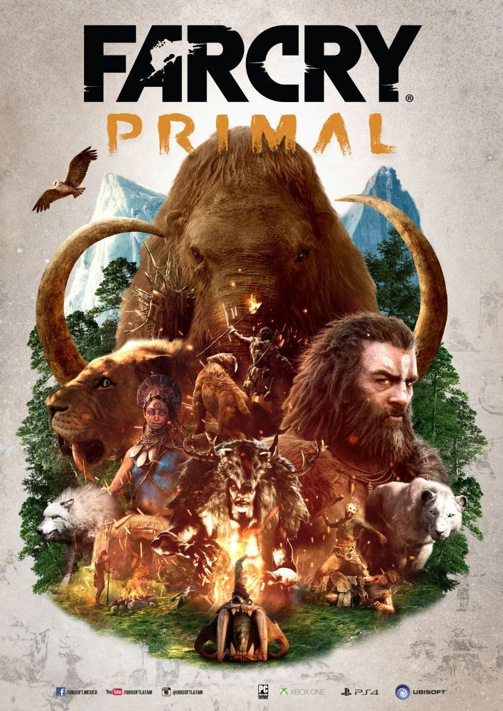 Far Cry Primal Ya Disponible A Nivel Mundial Para Playstation - Far Cry Primal Posters , HD Wallpaper & Backgrounds