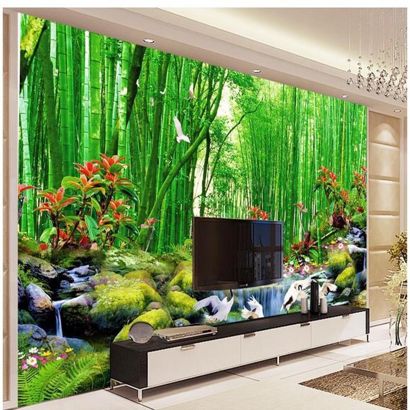 Wallpaper Pemandangan Gambar Pemandangan Alam Di Hutan 268496