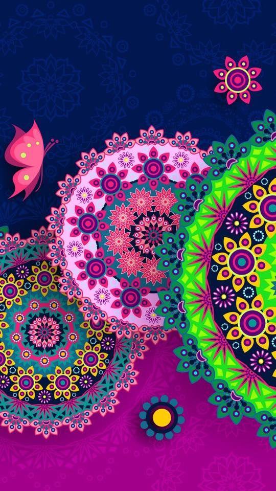 Iphone Wallpaper Ideas - Imagenes De Mandalas Para Fondo De Pantalla , HD Wallpaper & Backgrounds