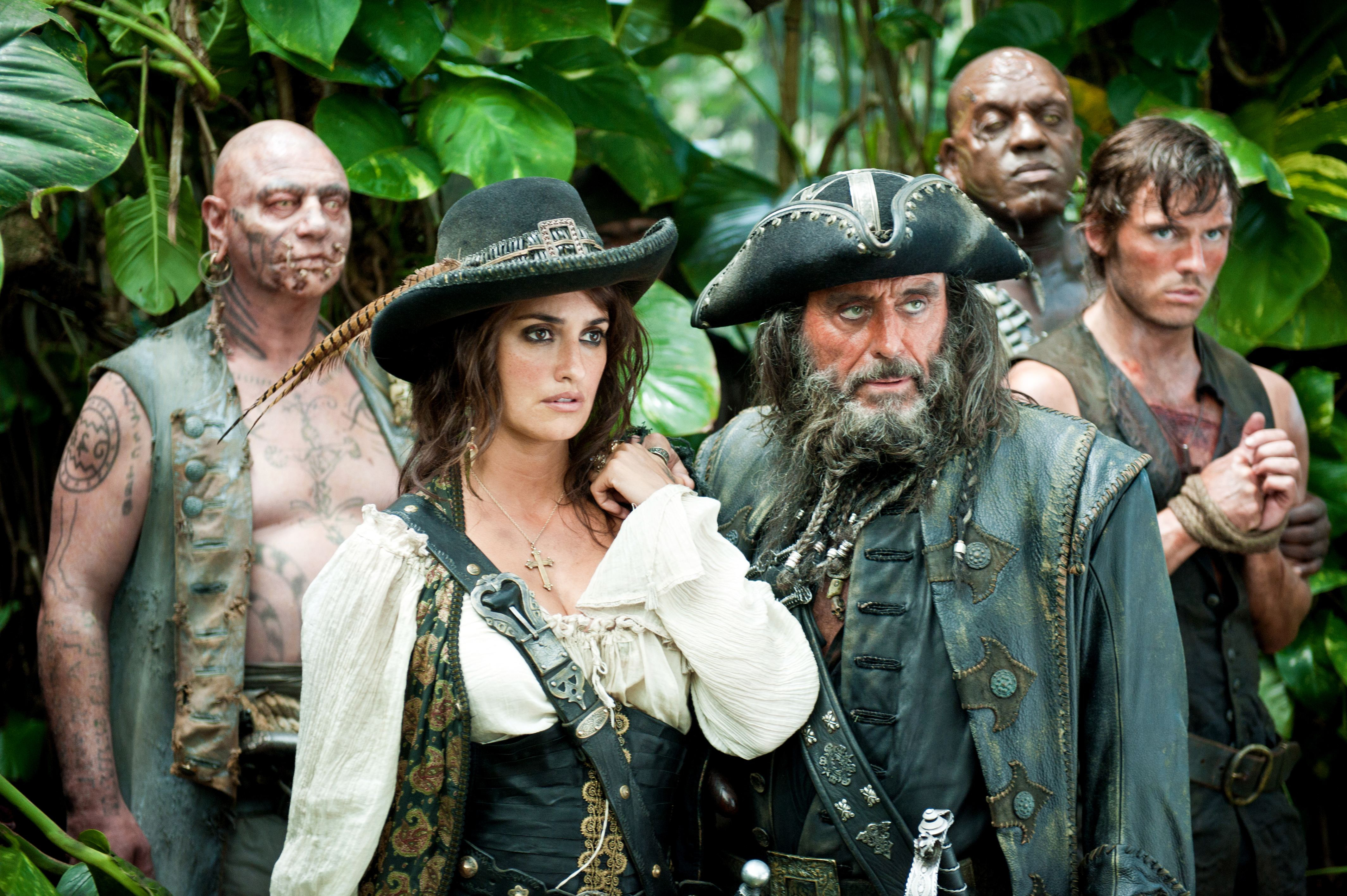 Blackbeard Wallpaper Hd - Pirates Of The Caribbean On Stranger Tides , HD Wallpaper & Backgrounds