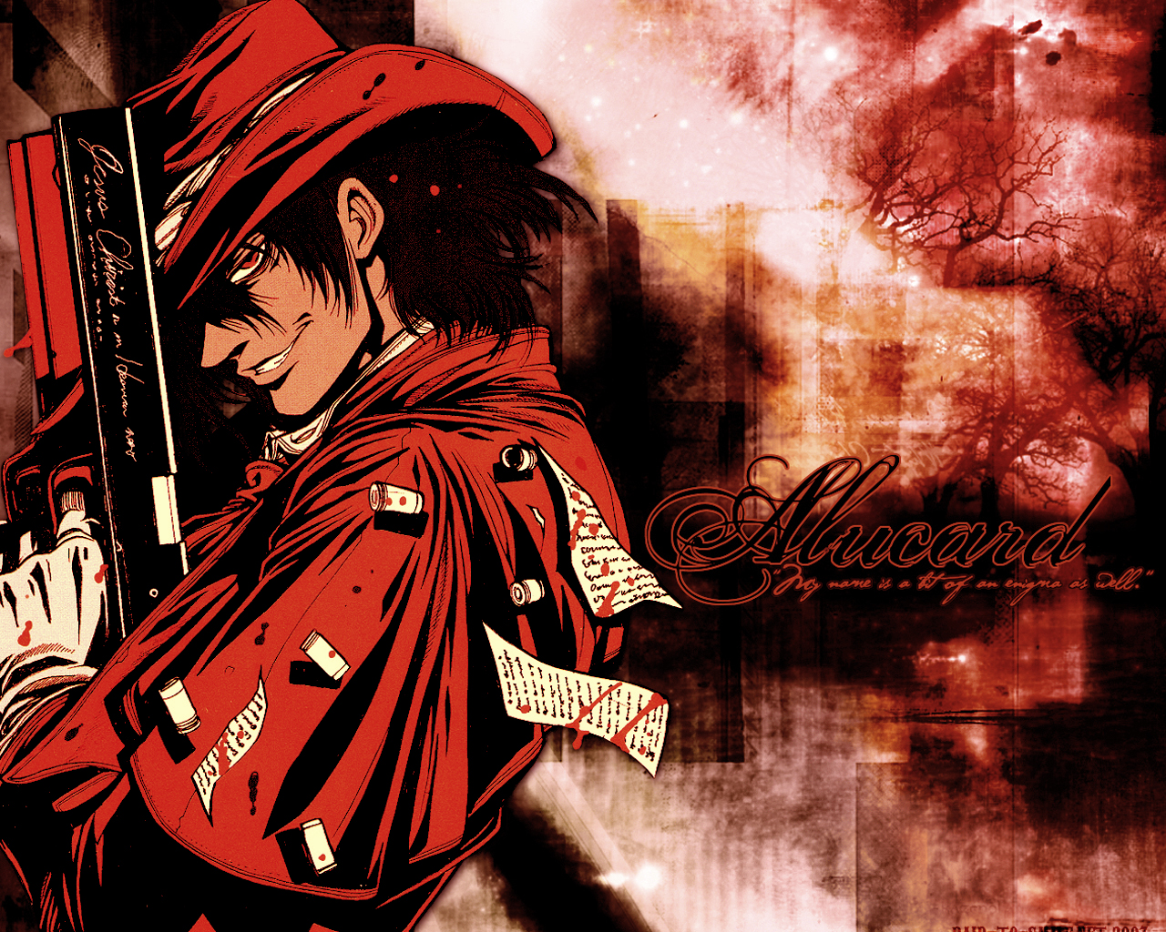Cool Alucard Hellsing 2606909 Hd Wallpaper Backgrounds Download
