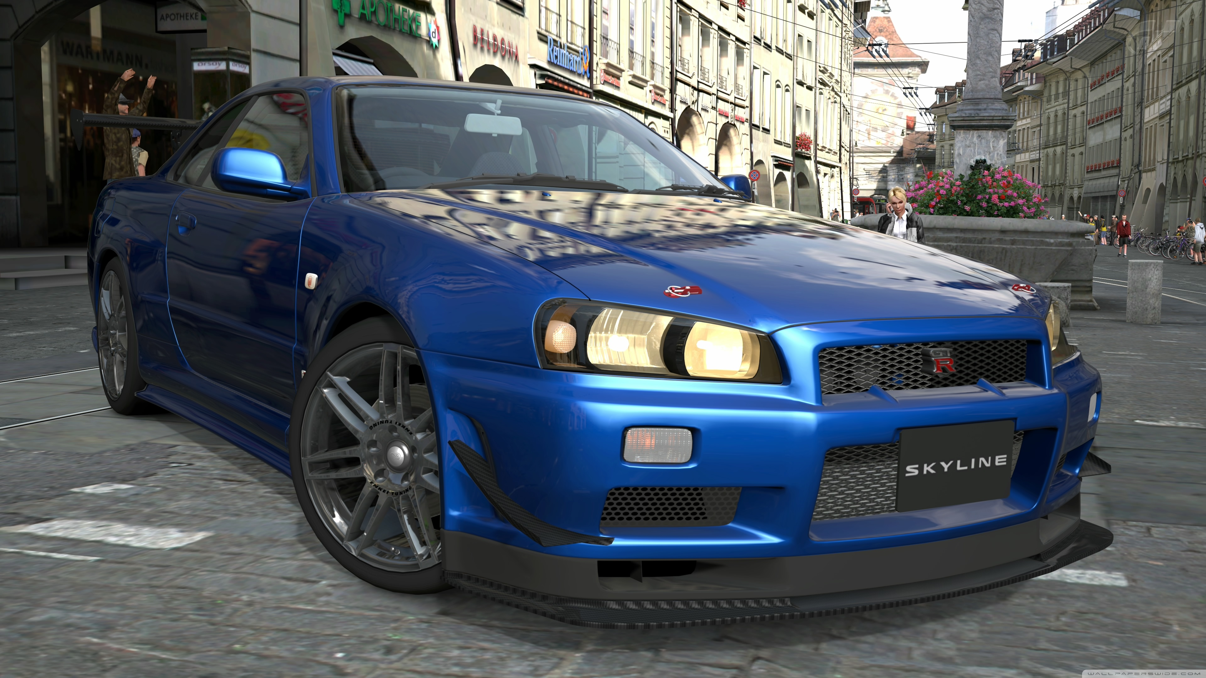 Nissan Skyline R34 Uhd 2607124 Hd Wallpaper Backgrounds Download