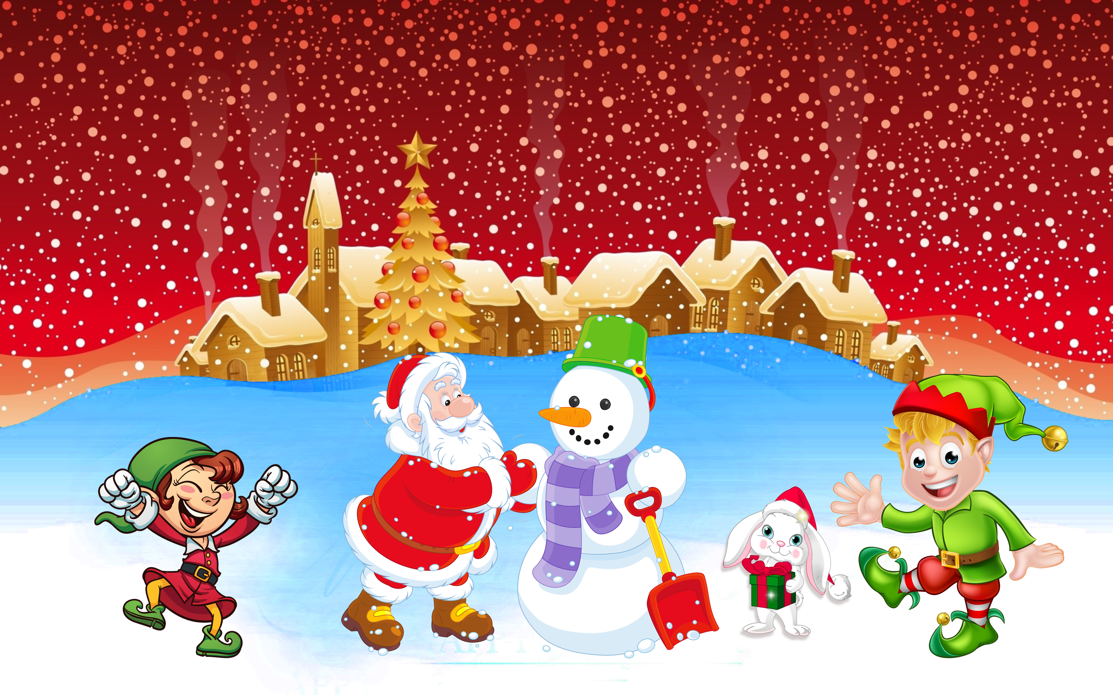 Merry Christmas & A Happy New Year 2020 Wishes , HD Wallpaper & Backgrounds