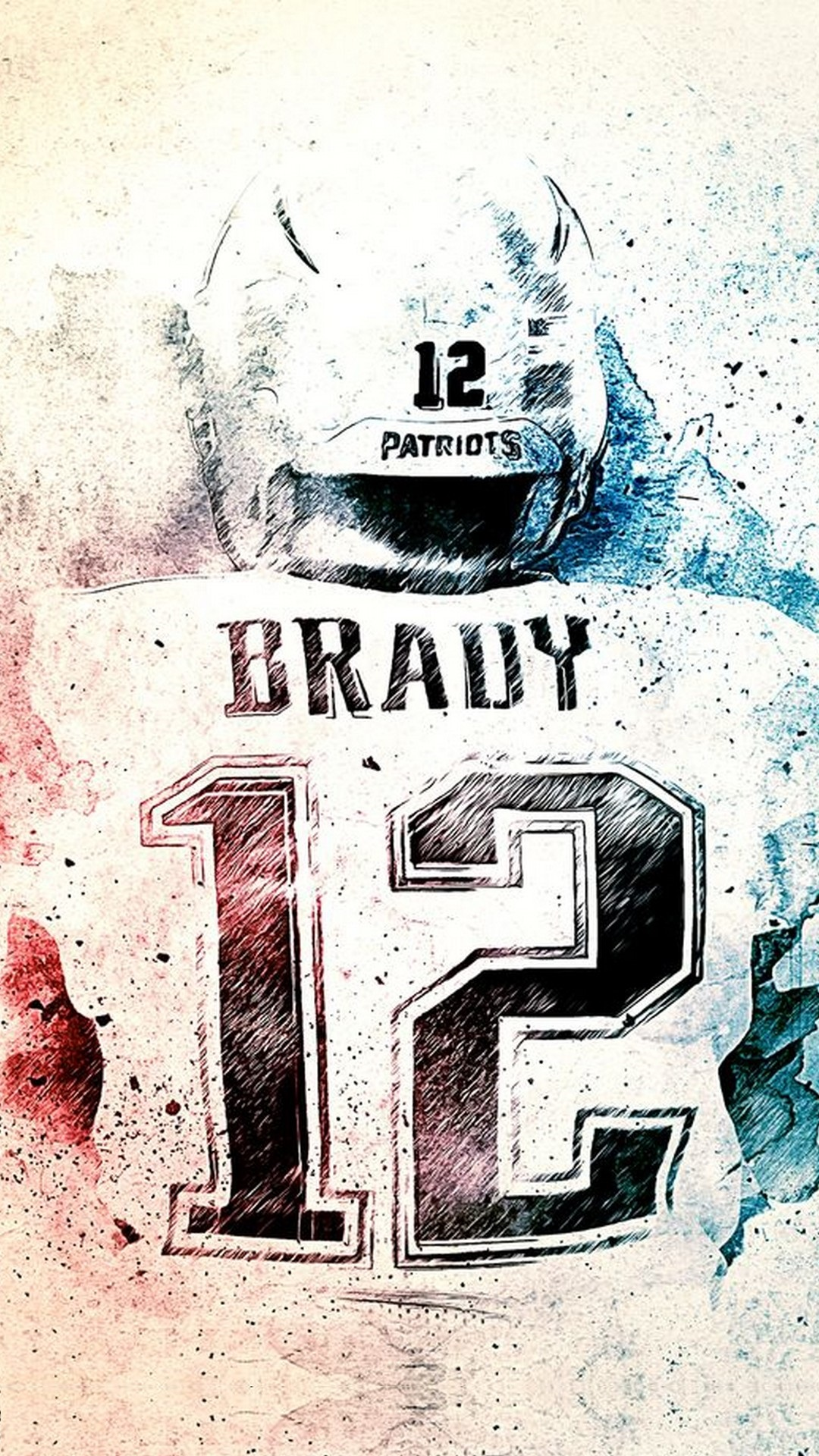 New England Patriots Iphone Wallpaper With High-resolution - Poster , HD Wallpaper & Backgrounds