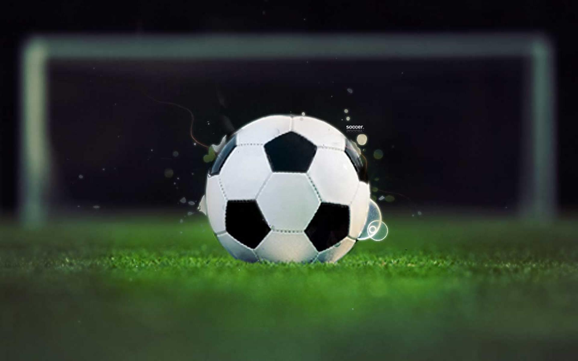 Soccer Ball Wallpaper Â« Desktop Background Wallpapers - Soccer Ball Background , HD Wallpaper & Backgrounds