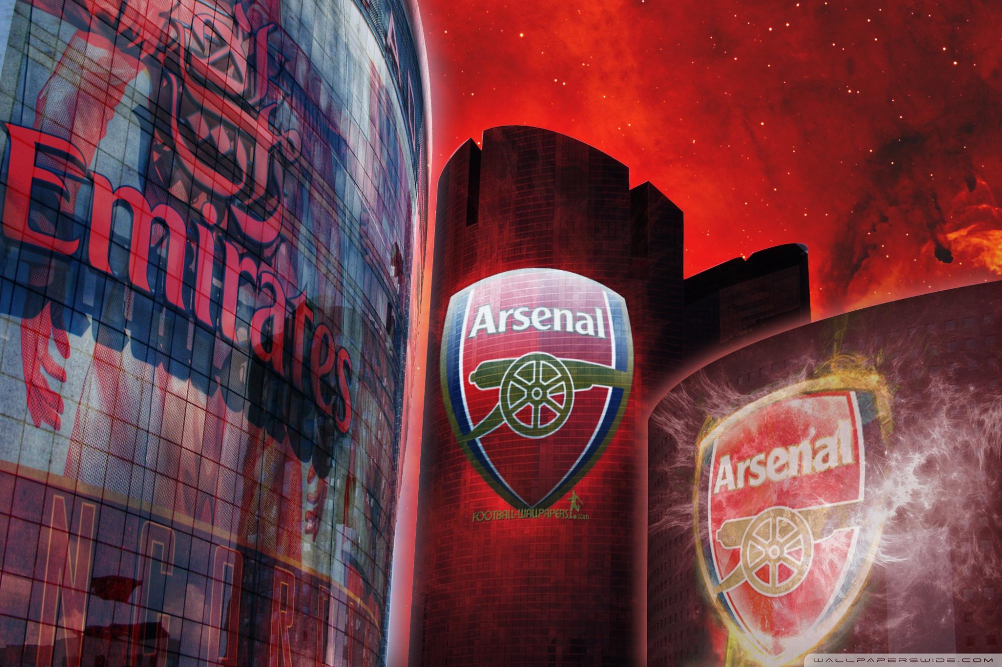 Arsenal Fc Wallpaper 2048 X 1152 , HD Wallpaper & Backgrounds