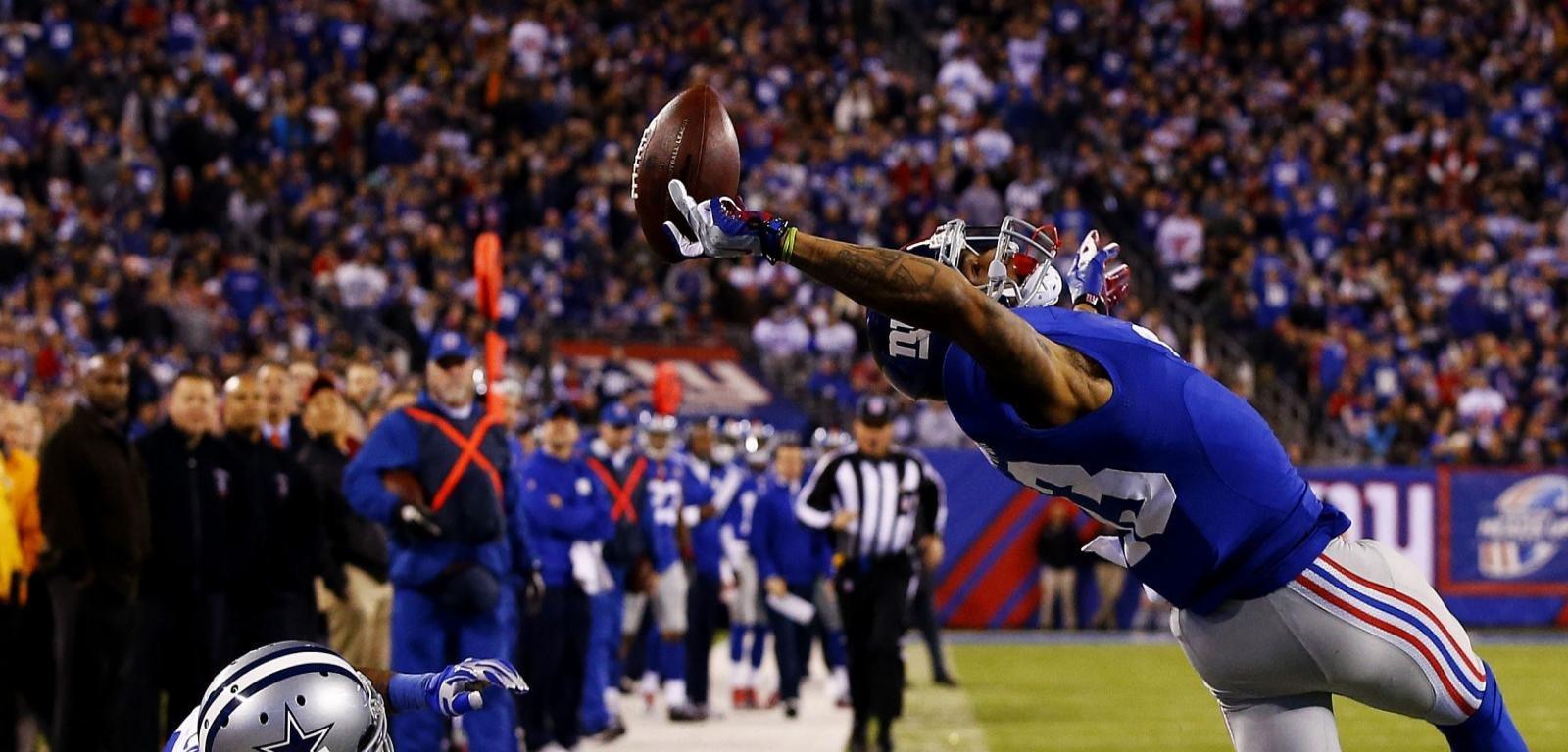 Best New York Giants Wallpaper Id Catch Odell Beckham Jr 2619728 Hd Wallpaper Backgrounds Download